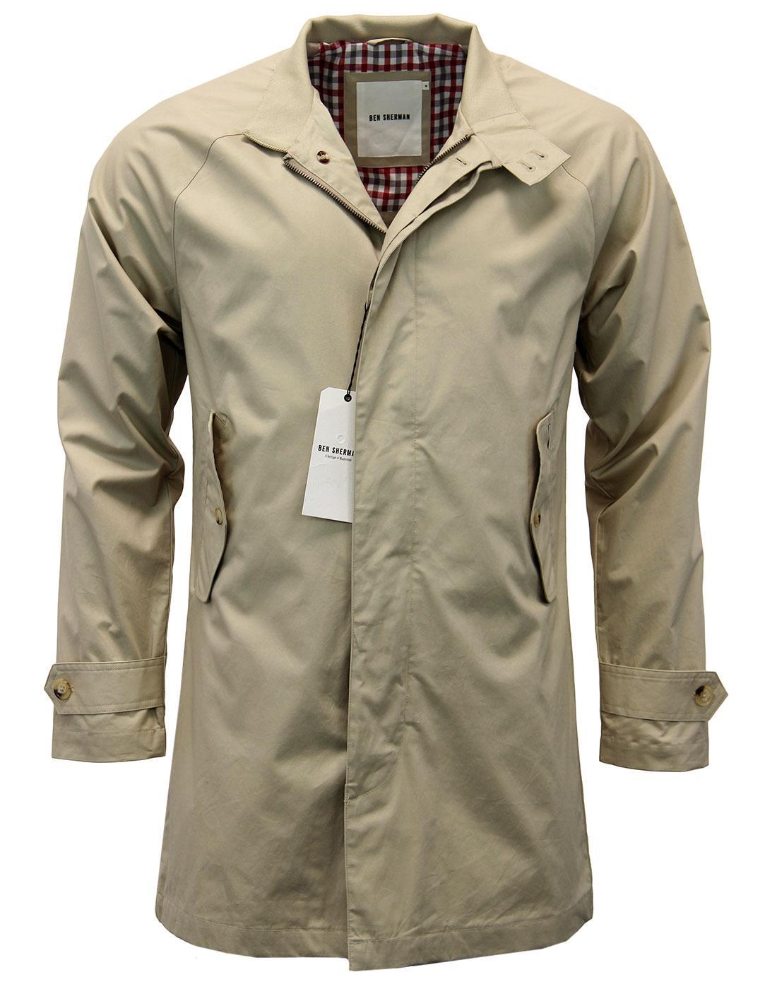 Harrymac Ben Sherman Retro 60s Mod Mac Jacket (M)