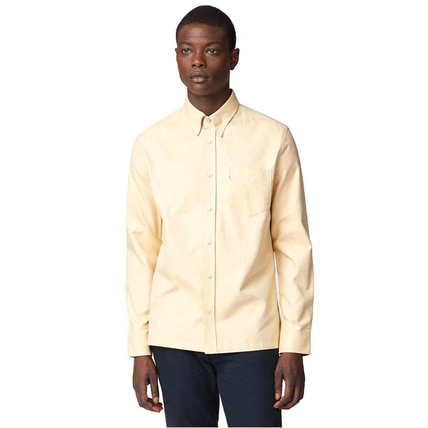Benny BEN SHERMAN 60s Archive Heavy Oxford Shirt D