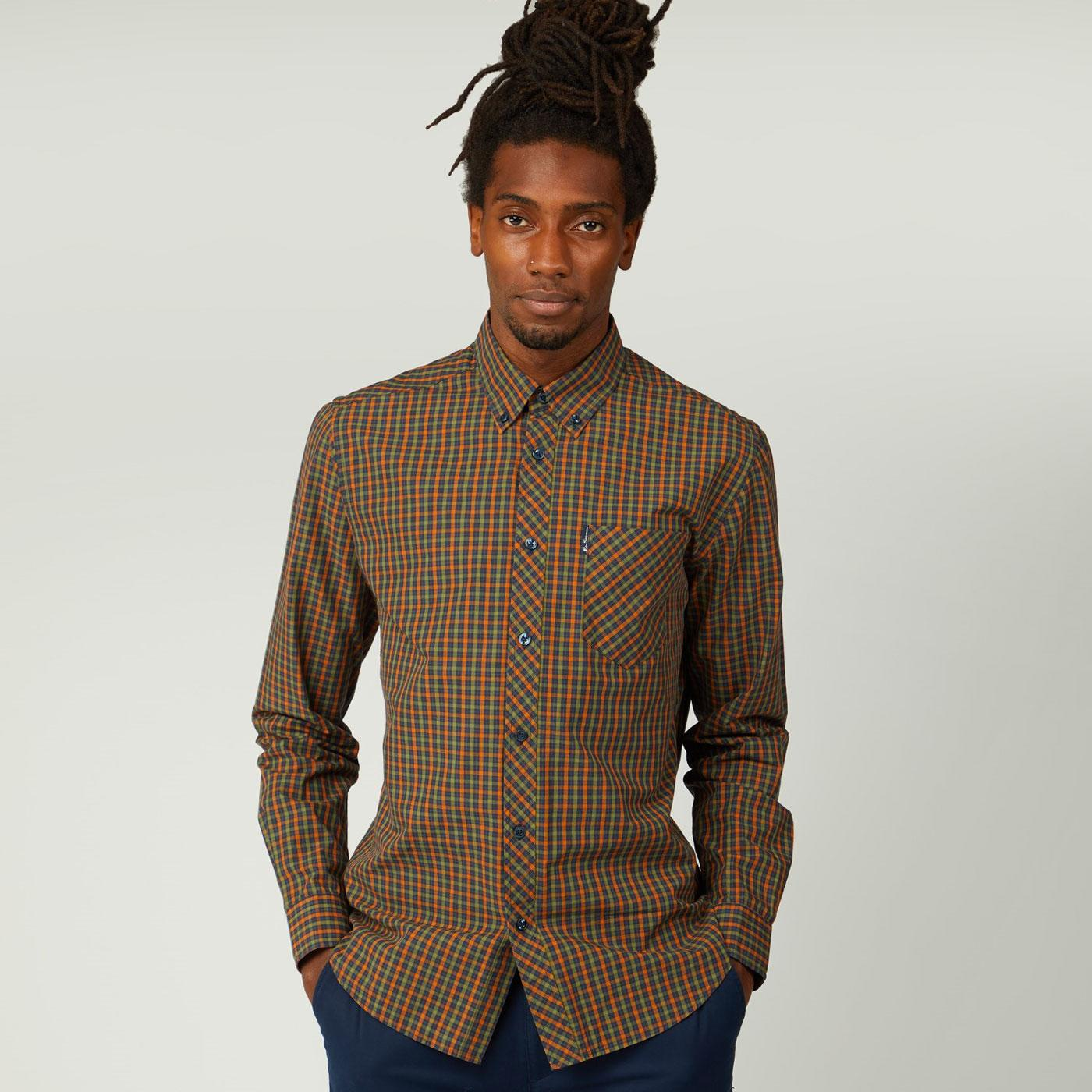 BEN SHERMAN Signature House Check Mod Shirt GM