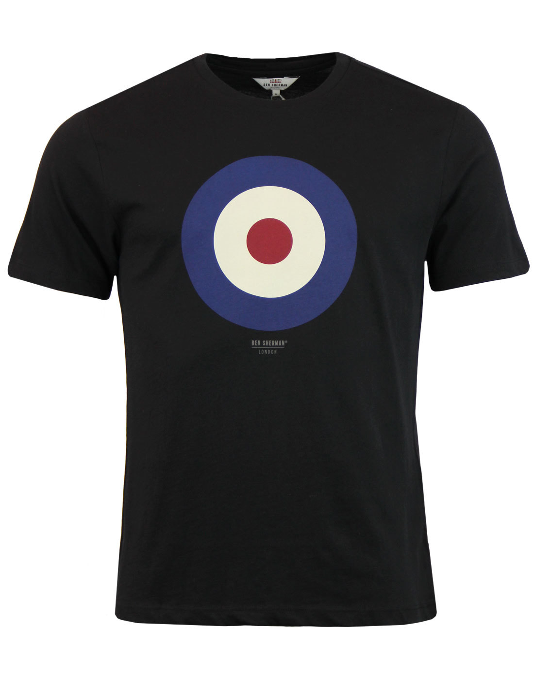BEN SHERMAN Keith Moon Mod Target T-Shirt Black