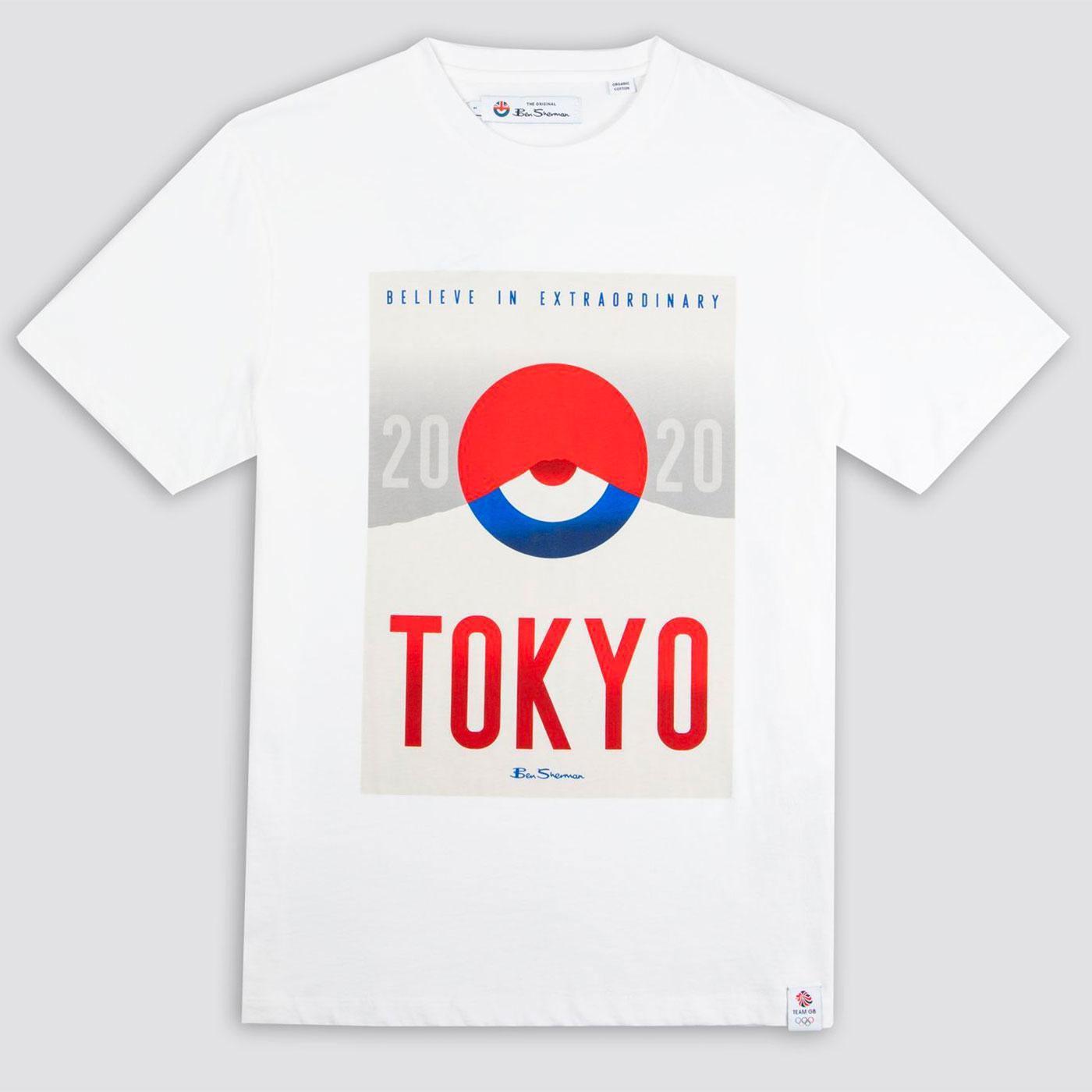 BEN SHERMAN x Team GB Tokyo Art Retro Tee