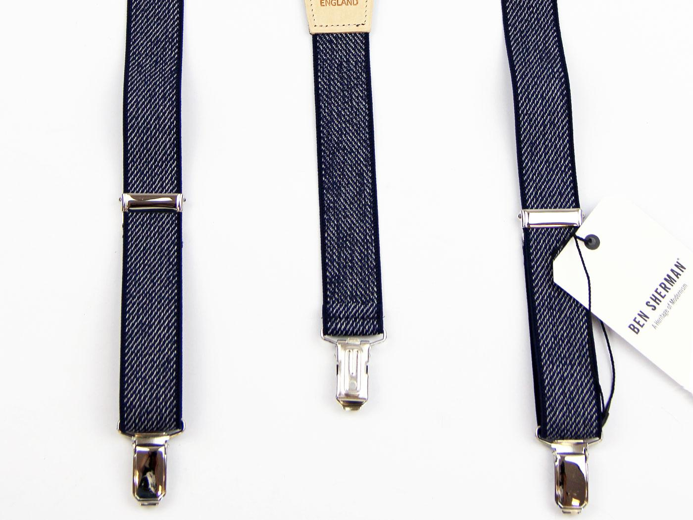 Ben Sherman Made In England Retro Mod Braces (N)