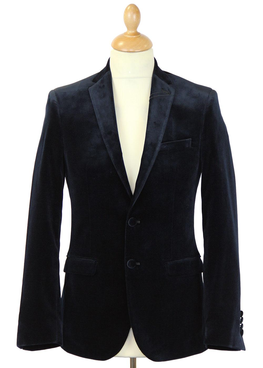 BEN SHERMAN TAILORING Mod Velvet Evening Jacket DN