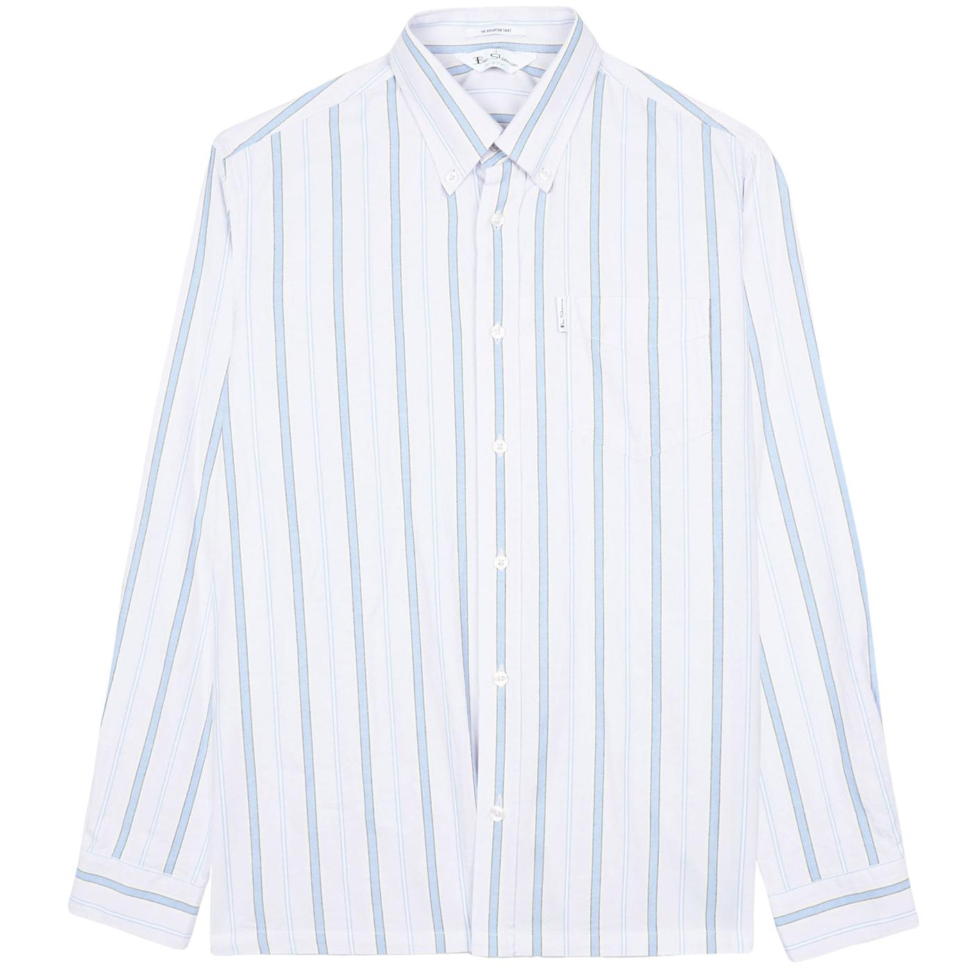 BEN SHERMAN Mod Archive 70s Brighton Stripe Shirt