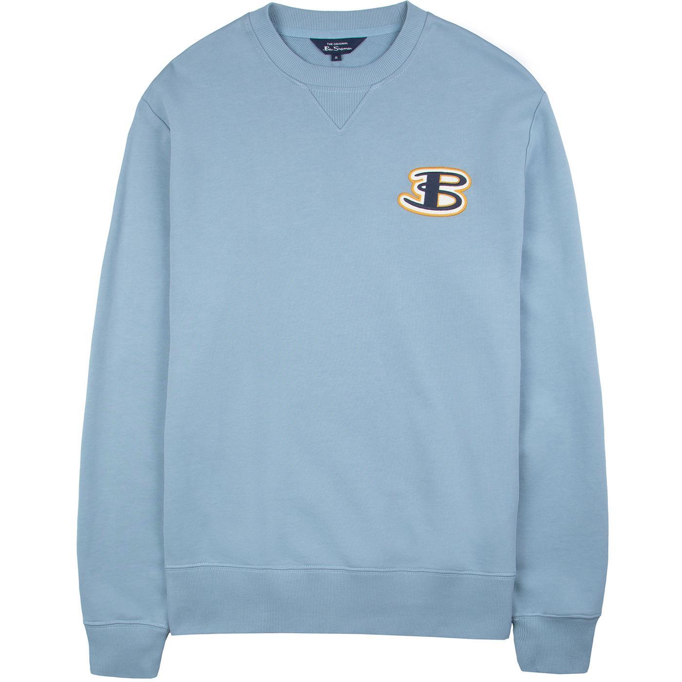 BEN SHERMAN Men's Retro Cornelli Logo Sweatshirt