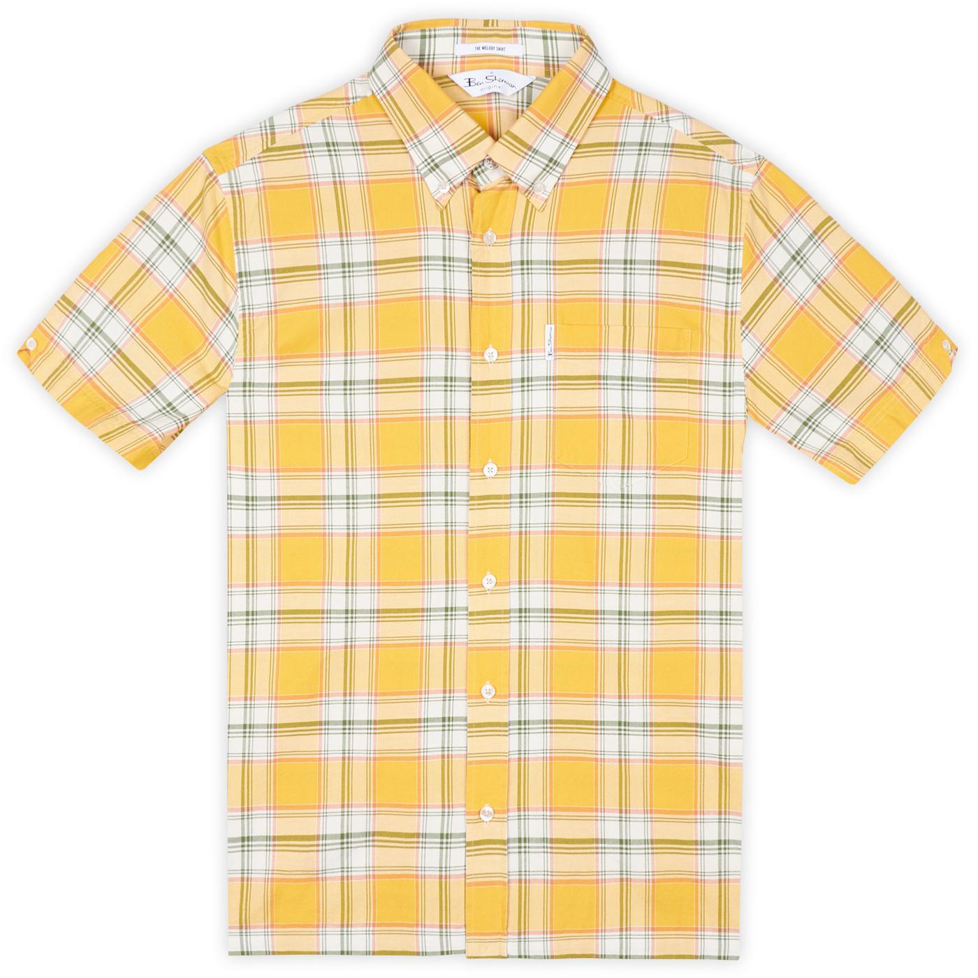 BEN SHERMAN Archive 90s Melody Madras Check Shirt