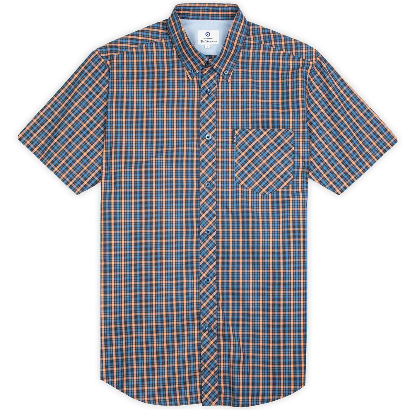 BEN SHERMAN Mod Signature House Check SS Shirt (P)