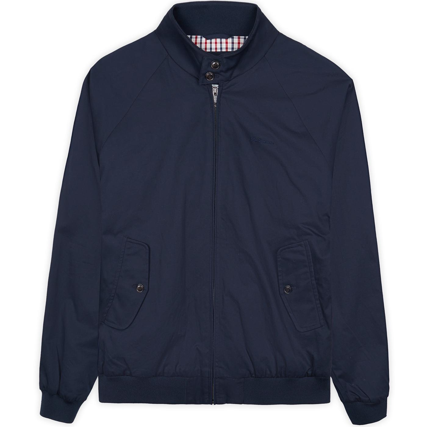BEN SHERMAN Mod Signature Harrington Jacket (DN)