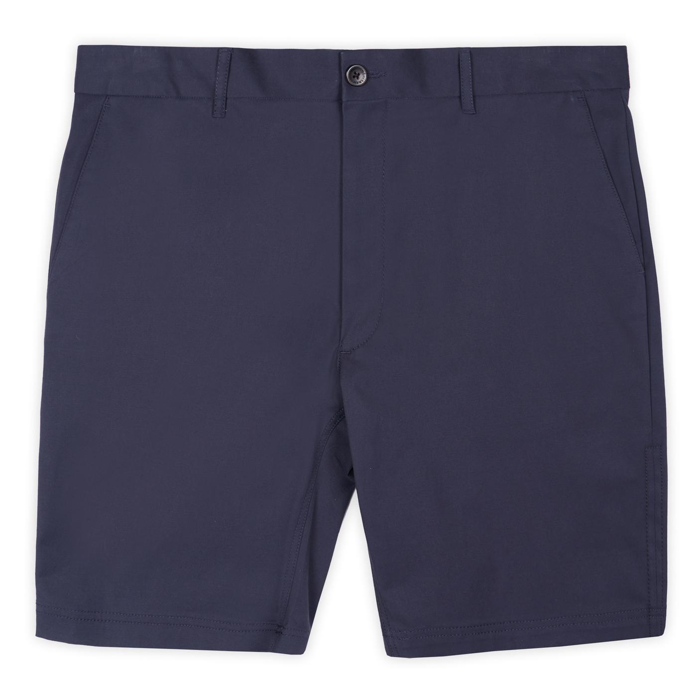 BEN SHERMAN Retro Signature Chino Shorts (Navy)