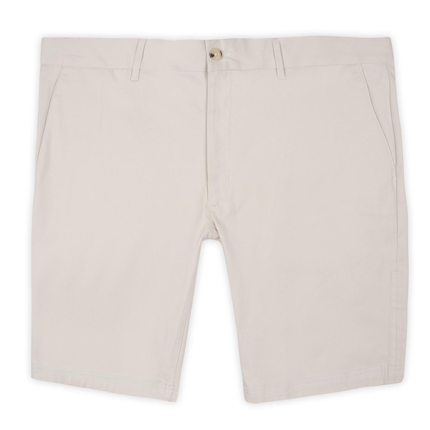 BEN SHERMAN Retro Signature Chino Shorts (Putty)