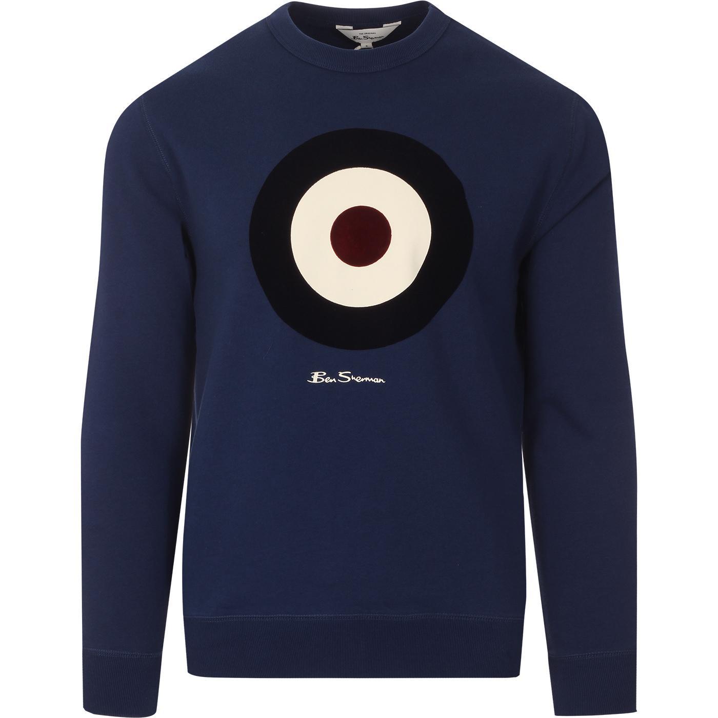 BEN SHERMAN Mod Target Signature Sweatshirt (Ink)