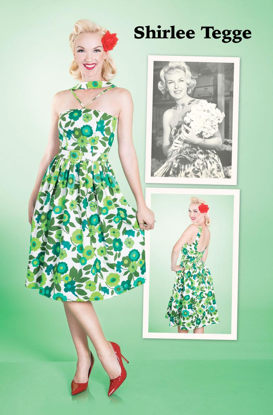 Shirlee BETTIE PAGE Retro Vintage 40s Style Dress