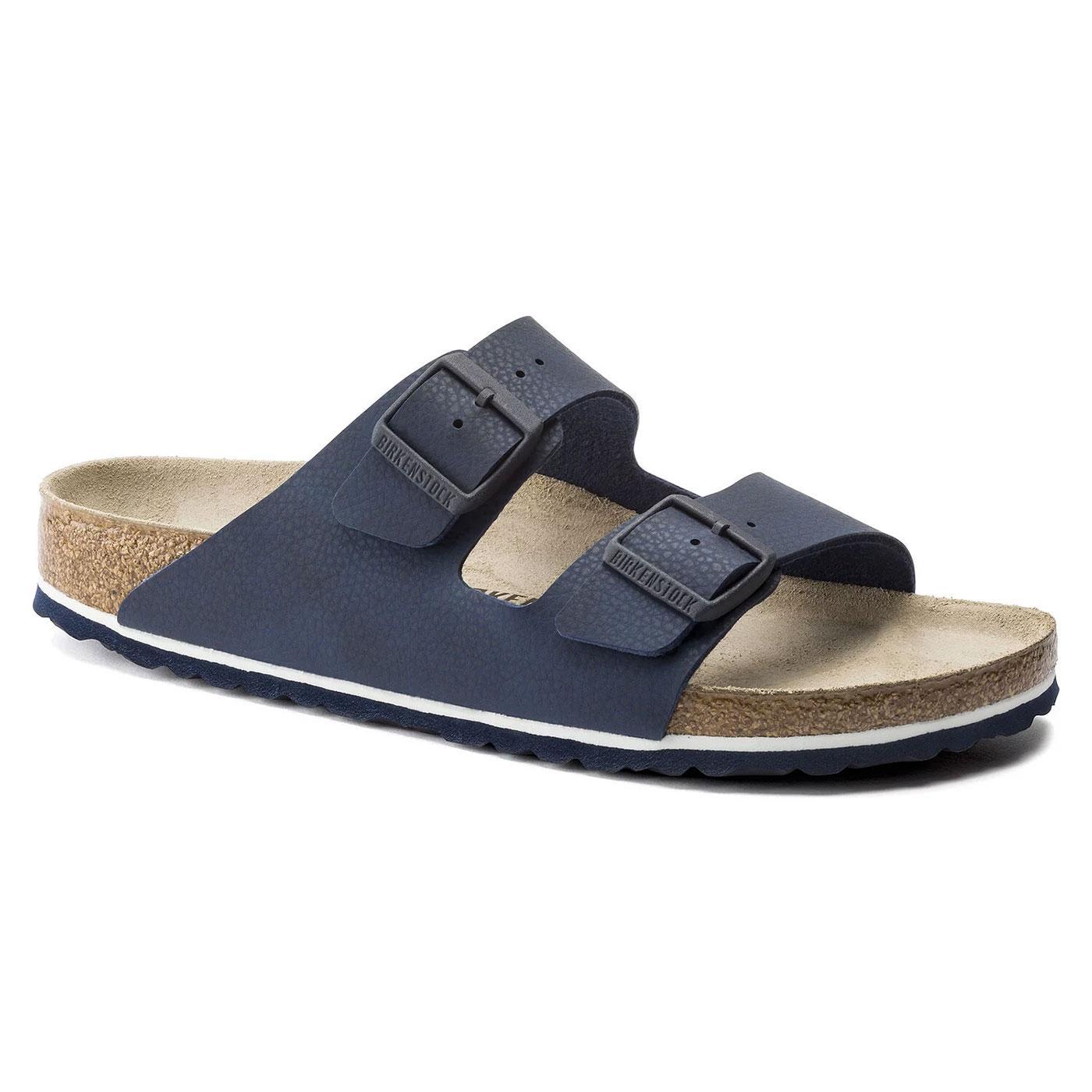 Arizona BIRKENSTOCK Men's Desert Soil Blue Sandals