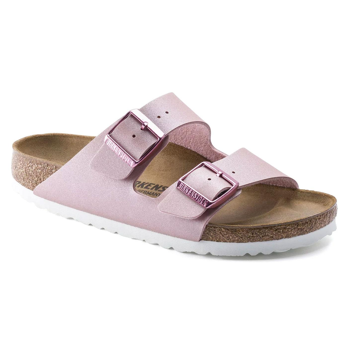 Arizona BF BIRKENSTOCK Womens Icy Metallic Sandals