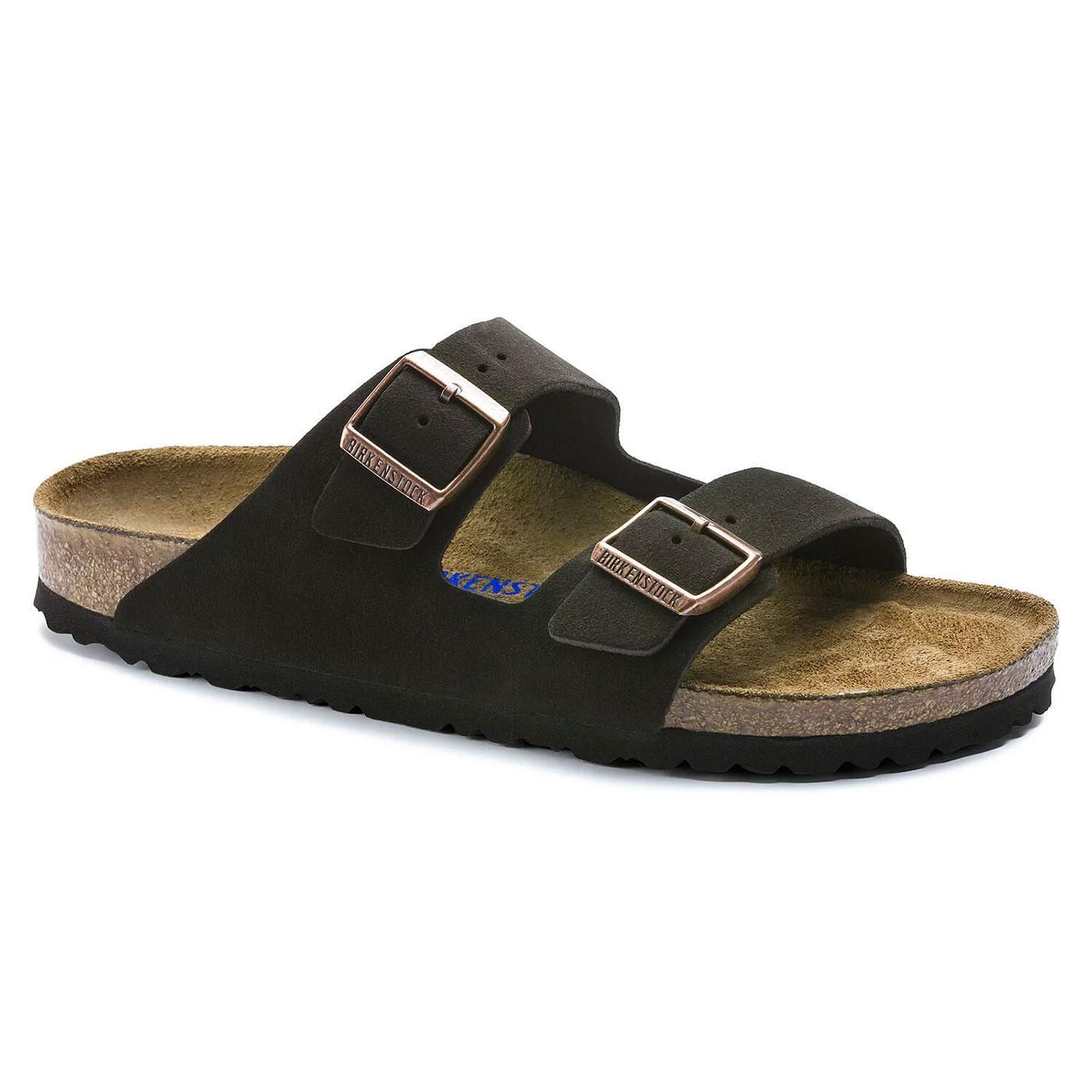 Arizona BIRKENSTOCK Soft Footbed Suede Sandals (M)