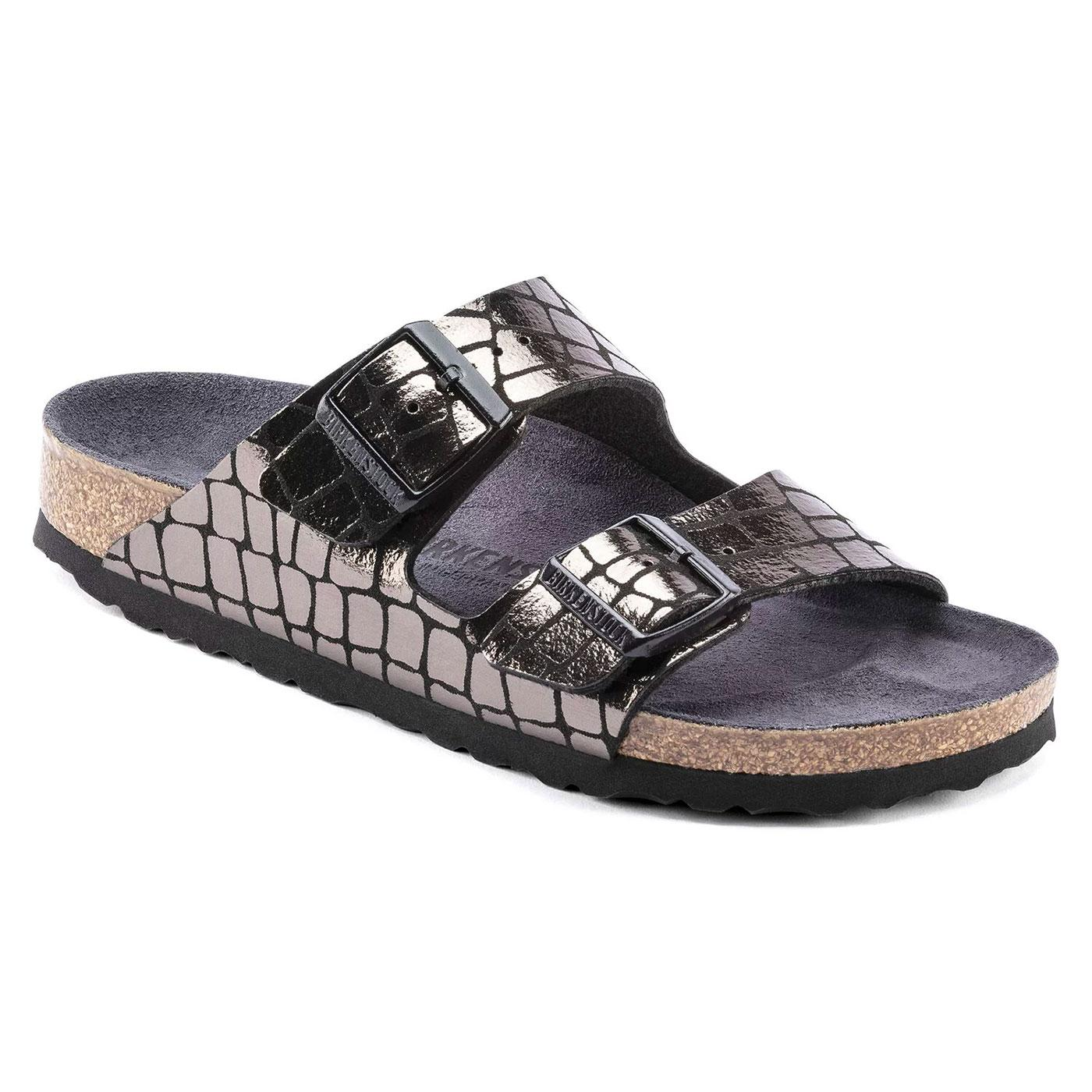 Arizona MF BIRKENSTOCK Women's Gator Gleam Sandals