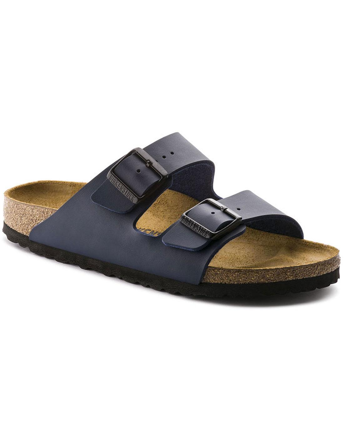 Arizona BIRKENSTOCK Retro 2 Strap Sandals (Blue)
