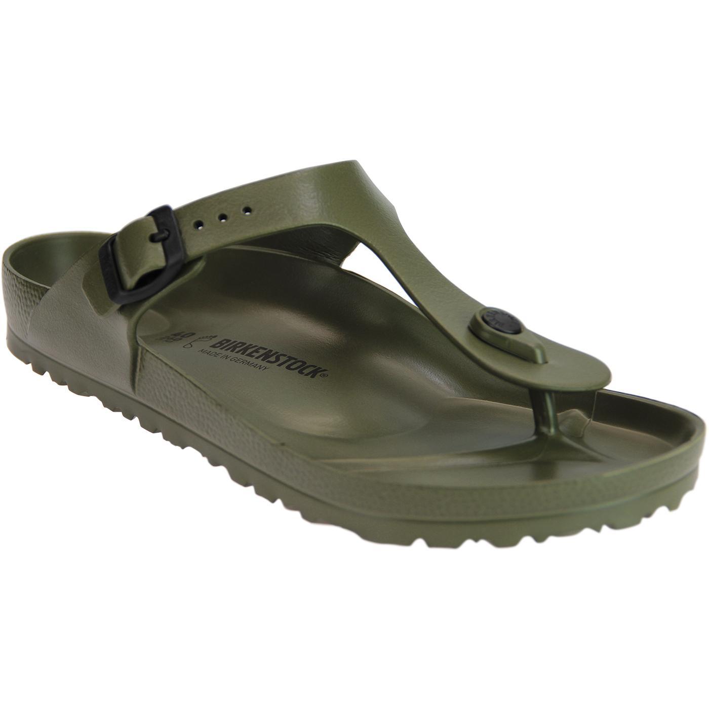 Gizeh EVA BIRKENSTOCK Retro Toe Grip Sandals Khaki