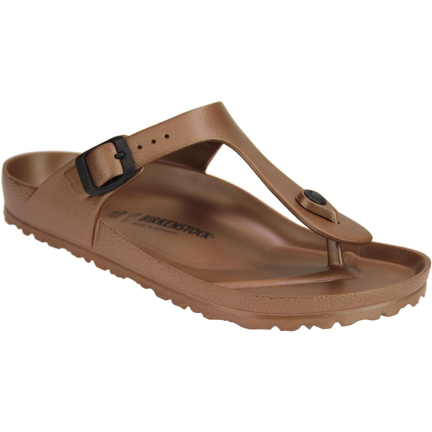 Gizeh EVA BIRKENSTOCK Mens Toe Grip Sandals Copper