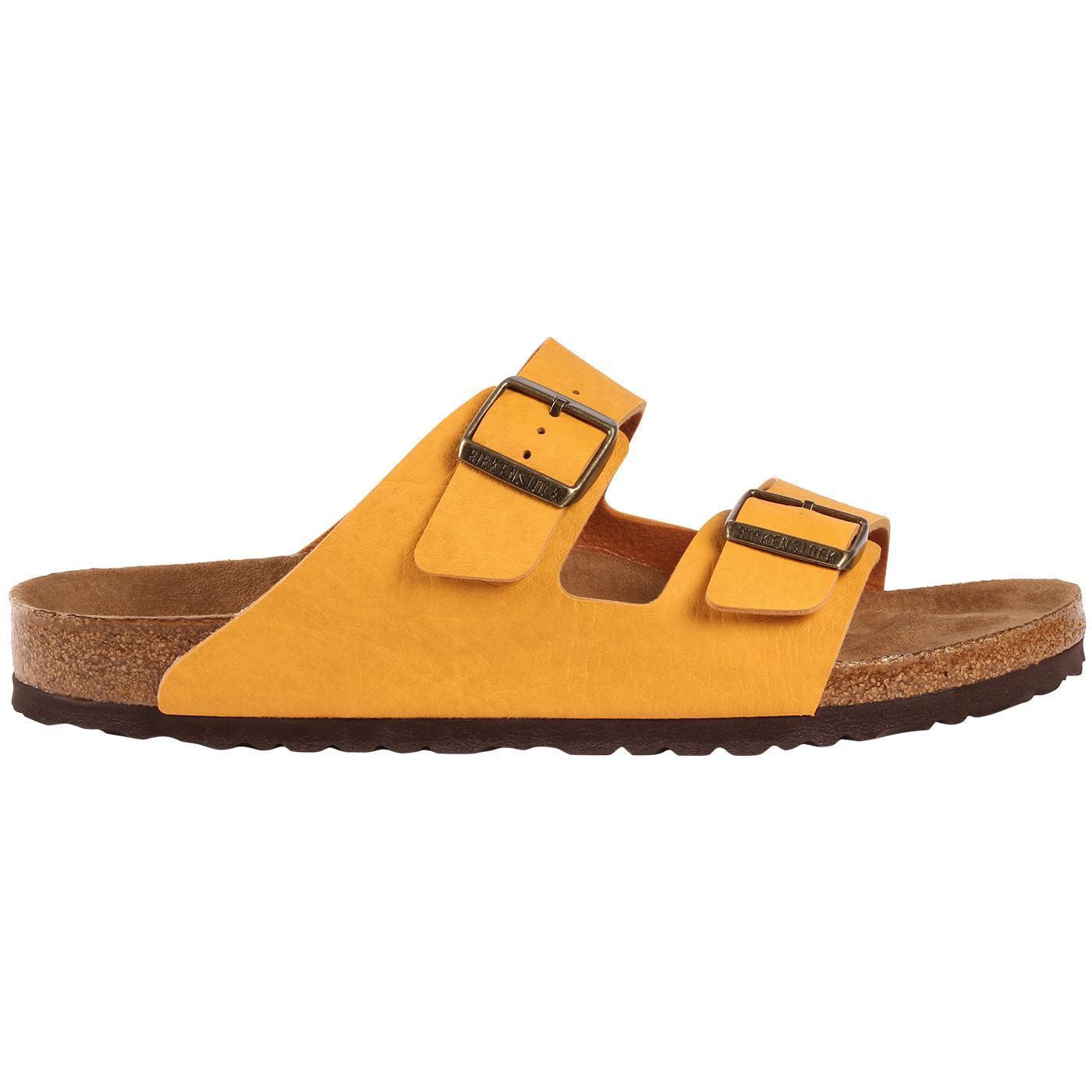 Arizona BS BIRKENSTOCK Saddle Matte Ochre Sandals