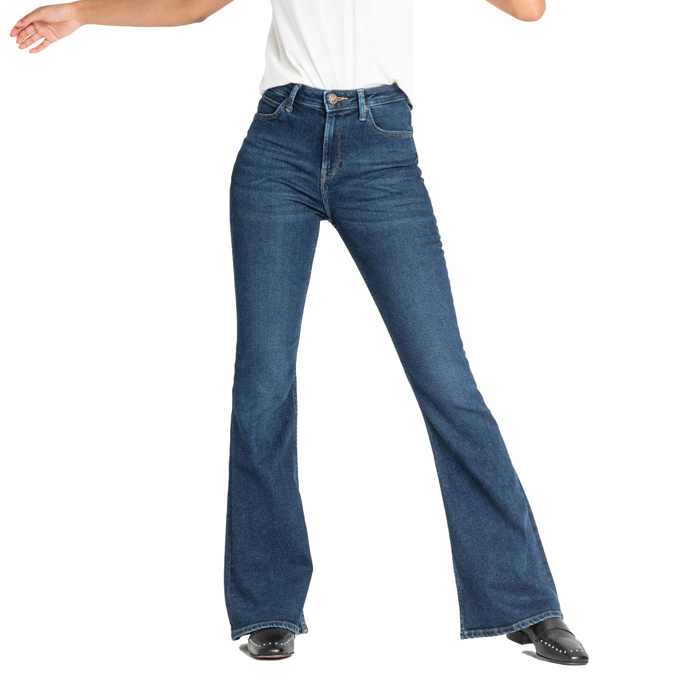 Breese LEE JEANS Retro High Rise Flare Jeans DW