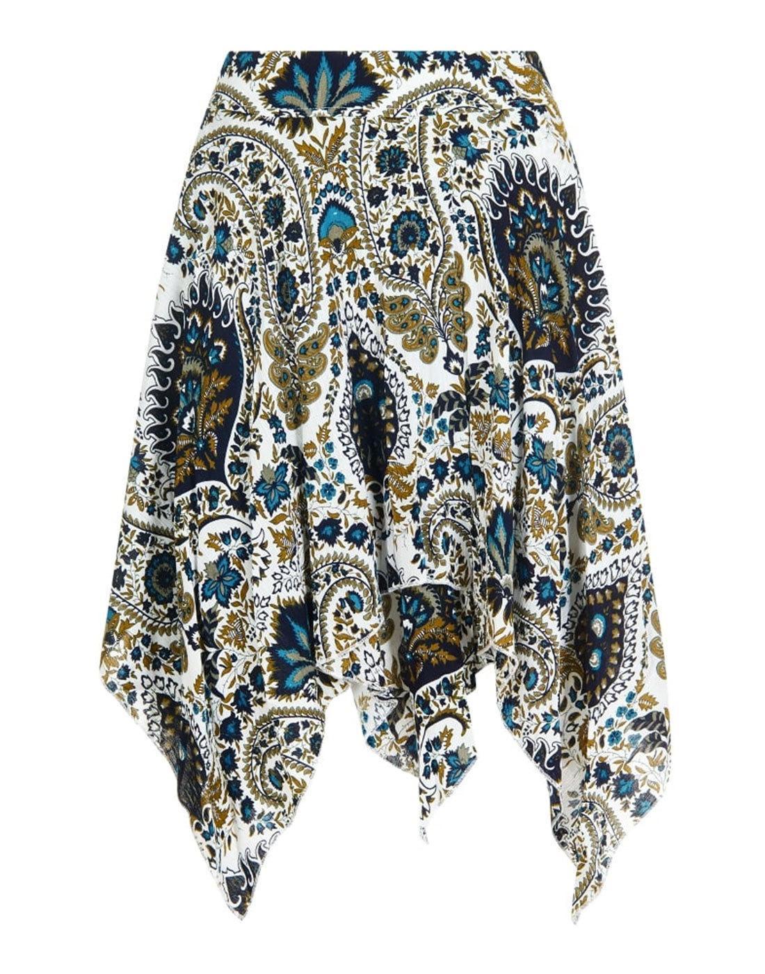 Anna BRIGHT & BEAUTIFUL Retro Boho 70s Skirt