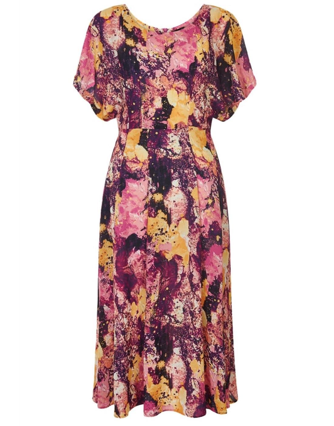 Jenny BRIGHT & BEAUTIFUL Retro 60s Marble Dress