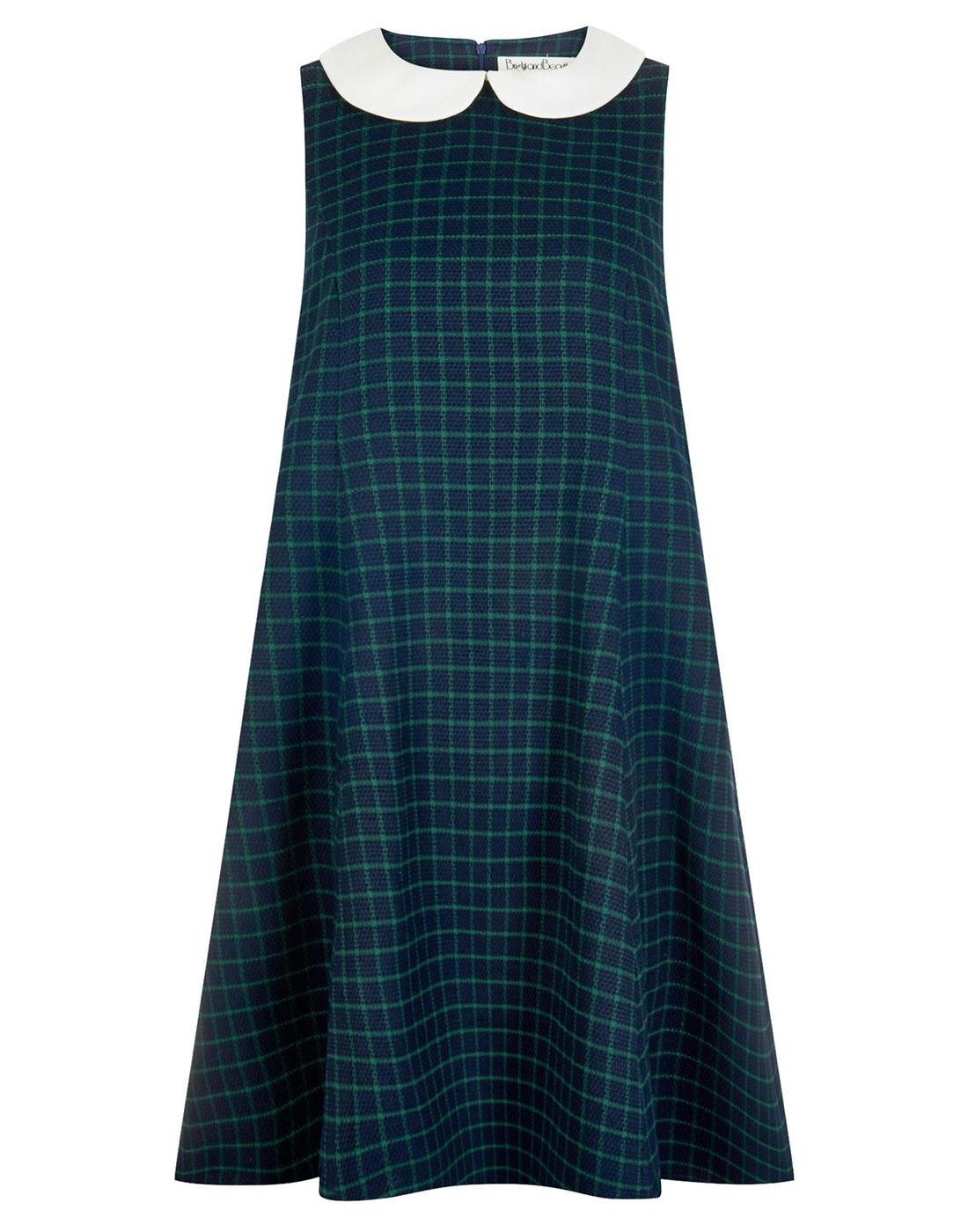 Nia BRIGHT & BEAUTIFUL Mod Check Baby Doll Dress