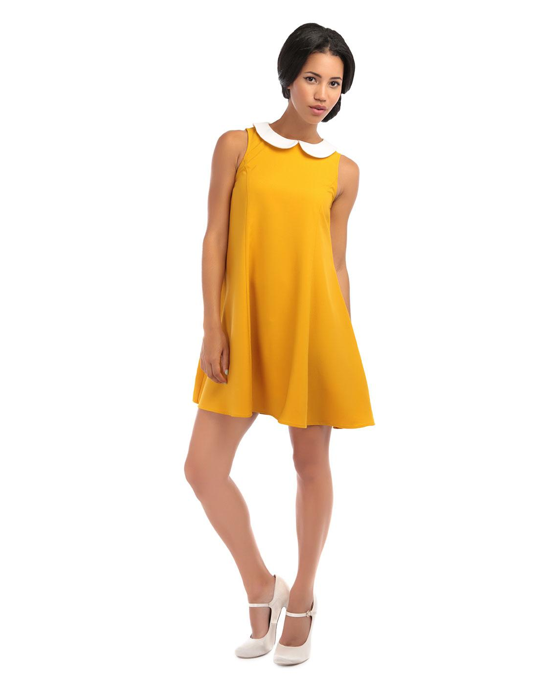 Nia BRIGHT & BEAUTIFUL Retro Mod Baby Doll Dress