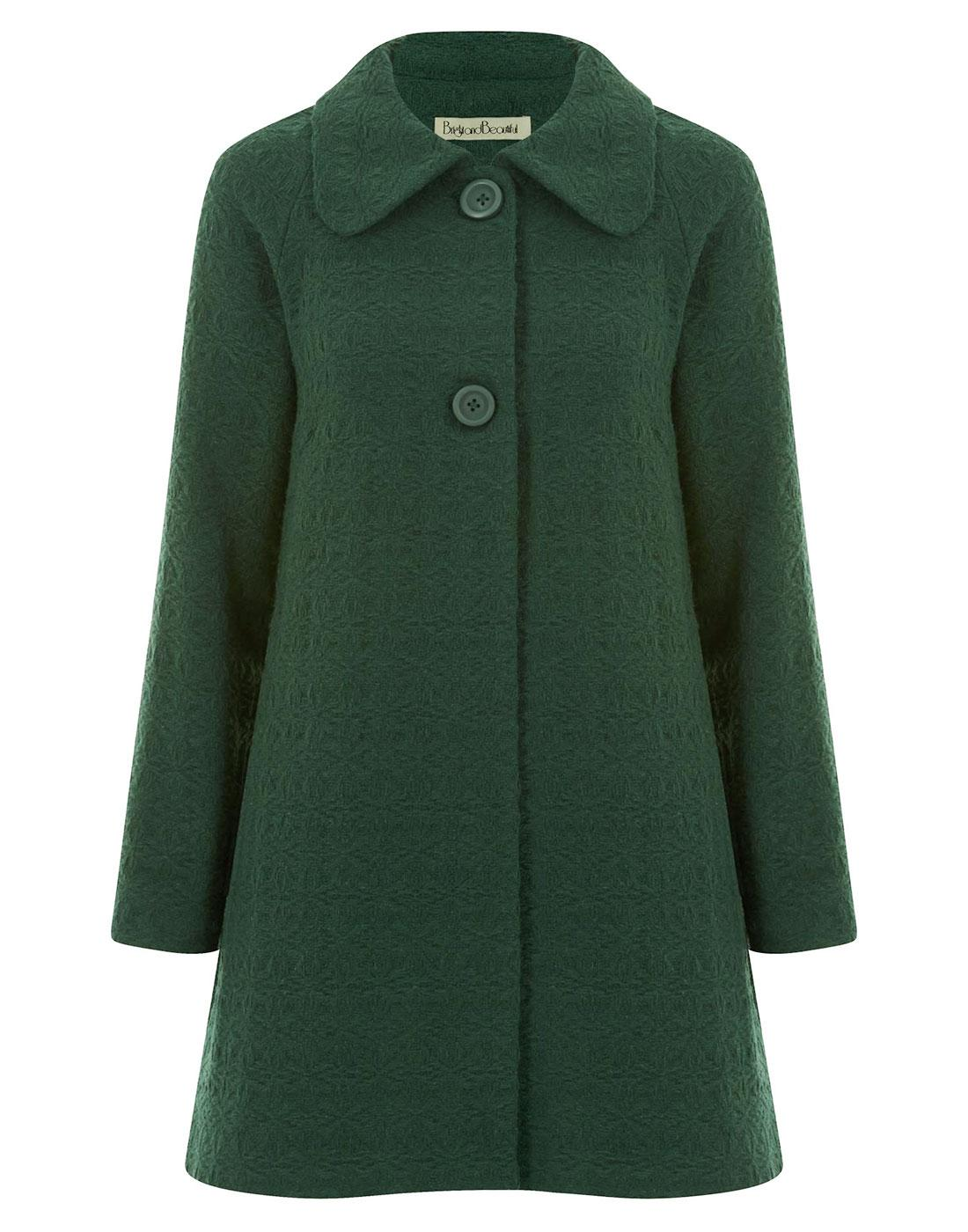Gloria BRIGHT & BEAUTIFUL Textured Swing Coat