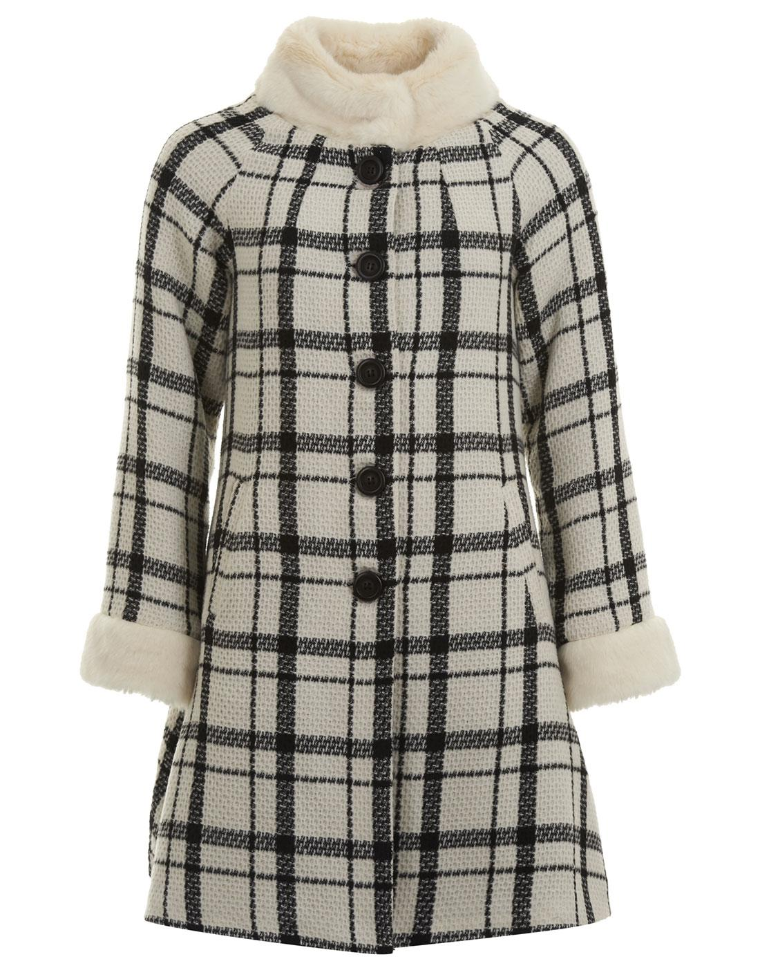 Mariella BRIGHT & BEAUTIFUL Retro Checked Coat