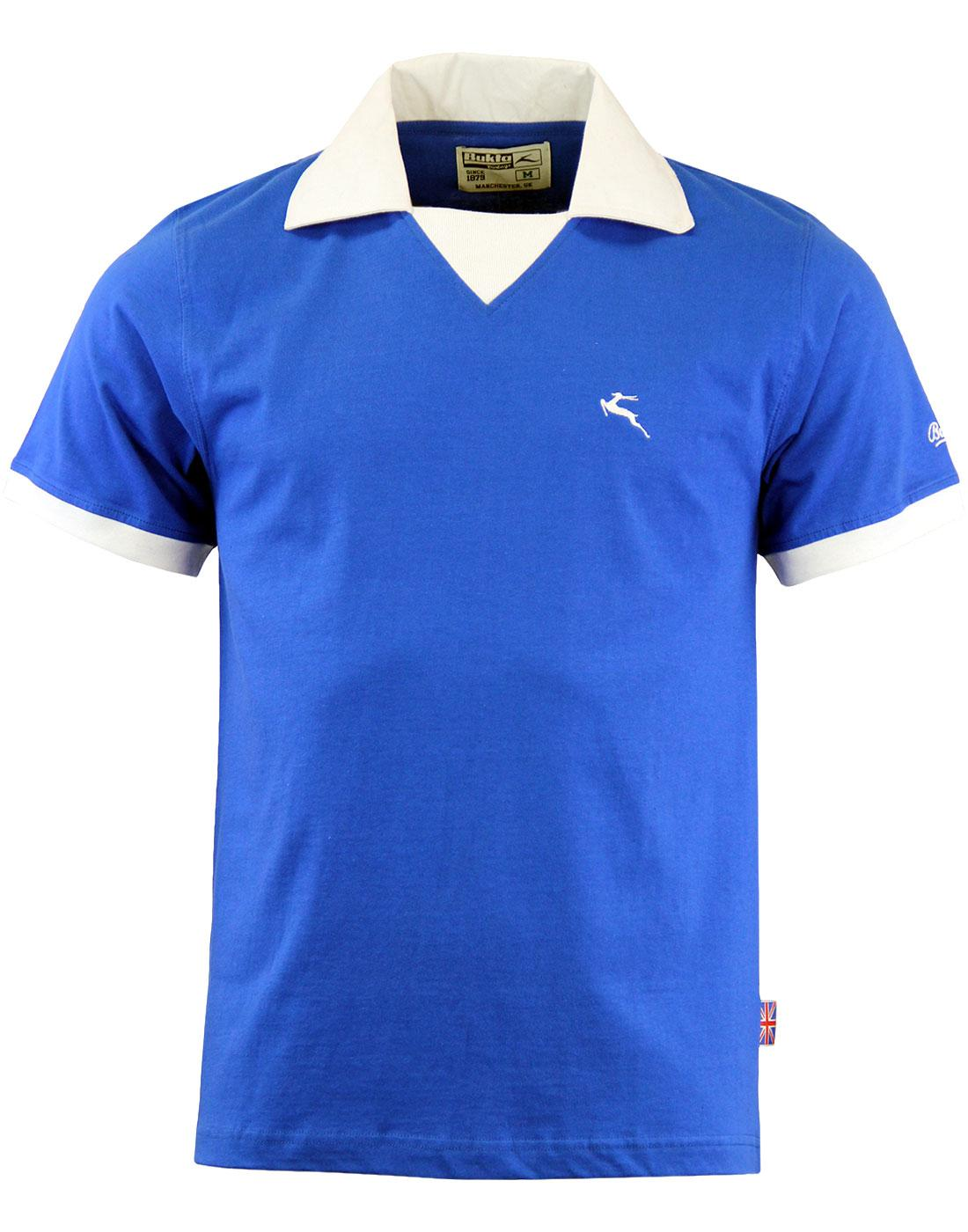 'Portland' -Bukta Vintage Retro Football Shirt (B)
