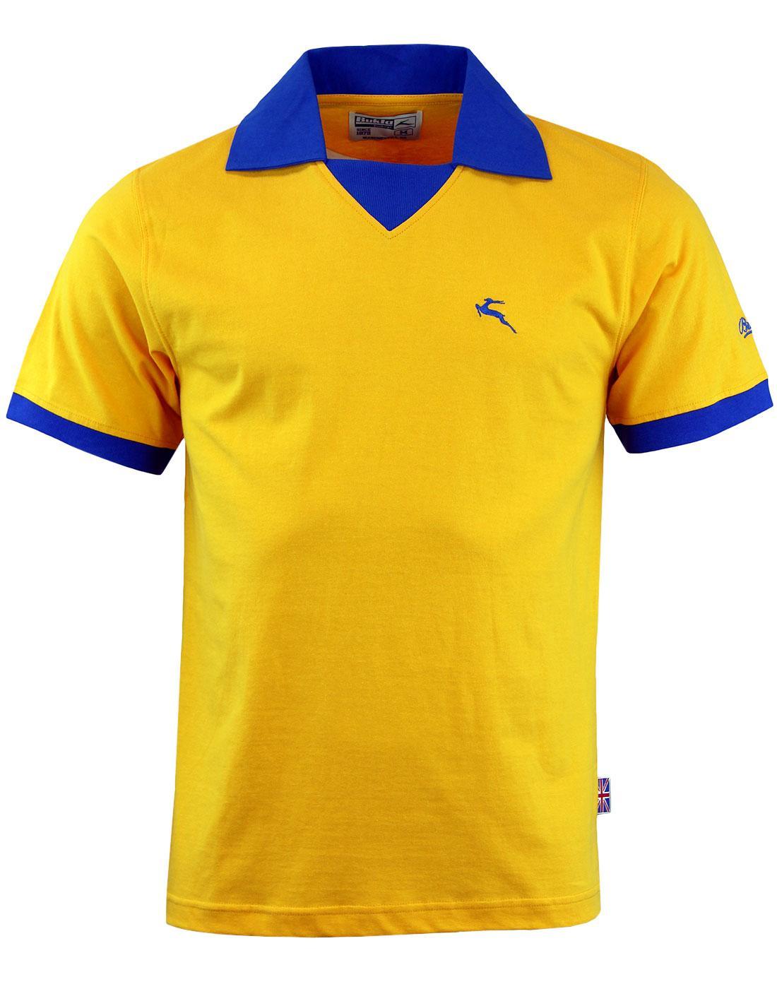 'Portland' -Bukta Vintage Retro Football Shirt (A)