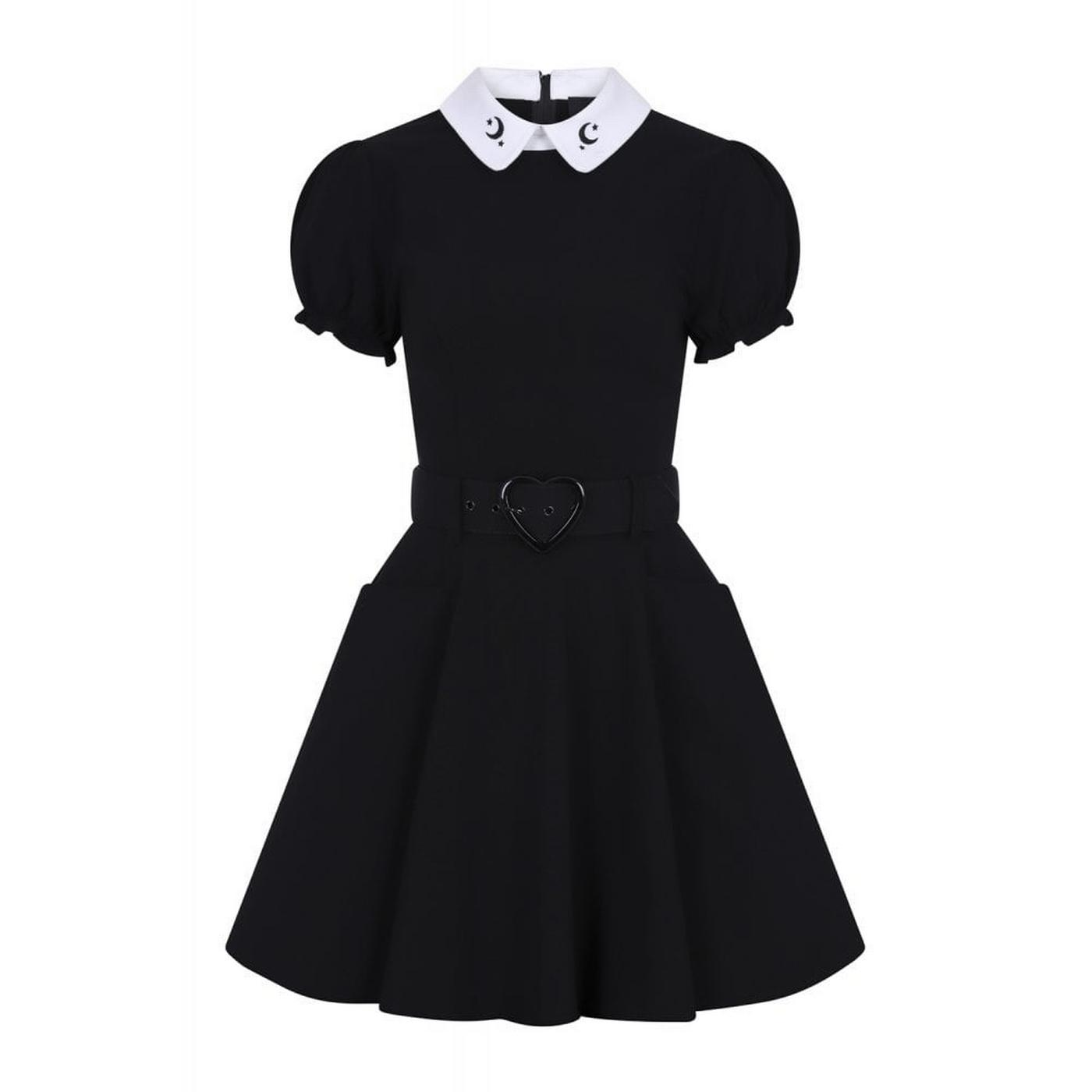Bunny Moon COLLECTIF Vintage Doll Dress - Black