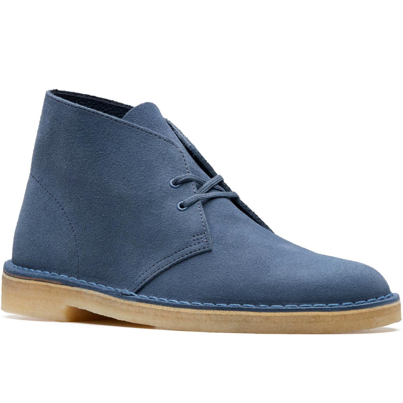 CLARKS ORIGINALS Mod Suede Desert Boots DEEP BLUE