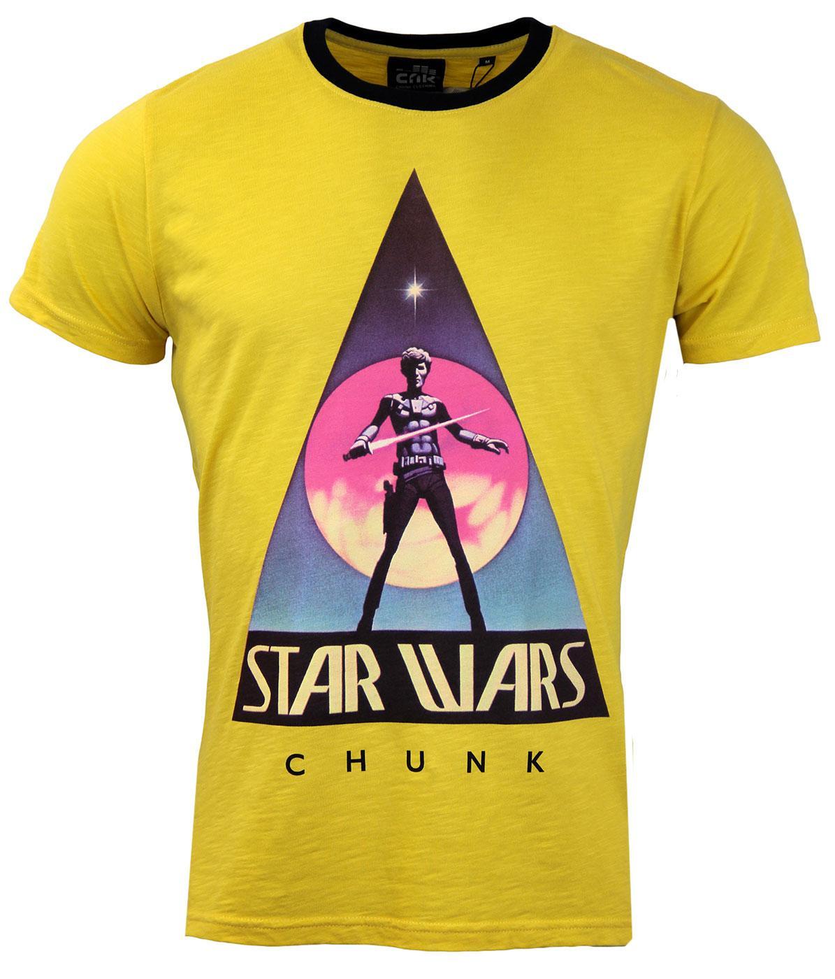 CHUNK Original Star Wars Logo Retro Poster T-Shirt