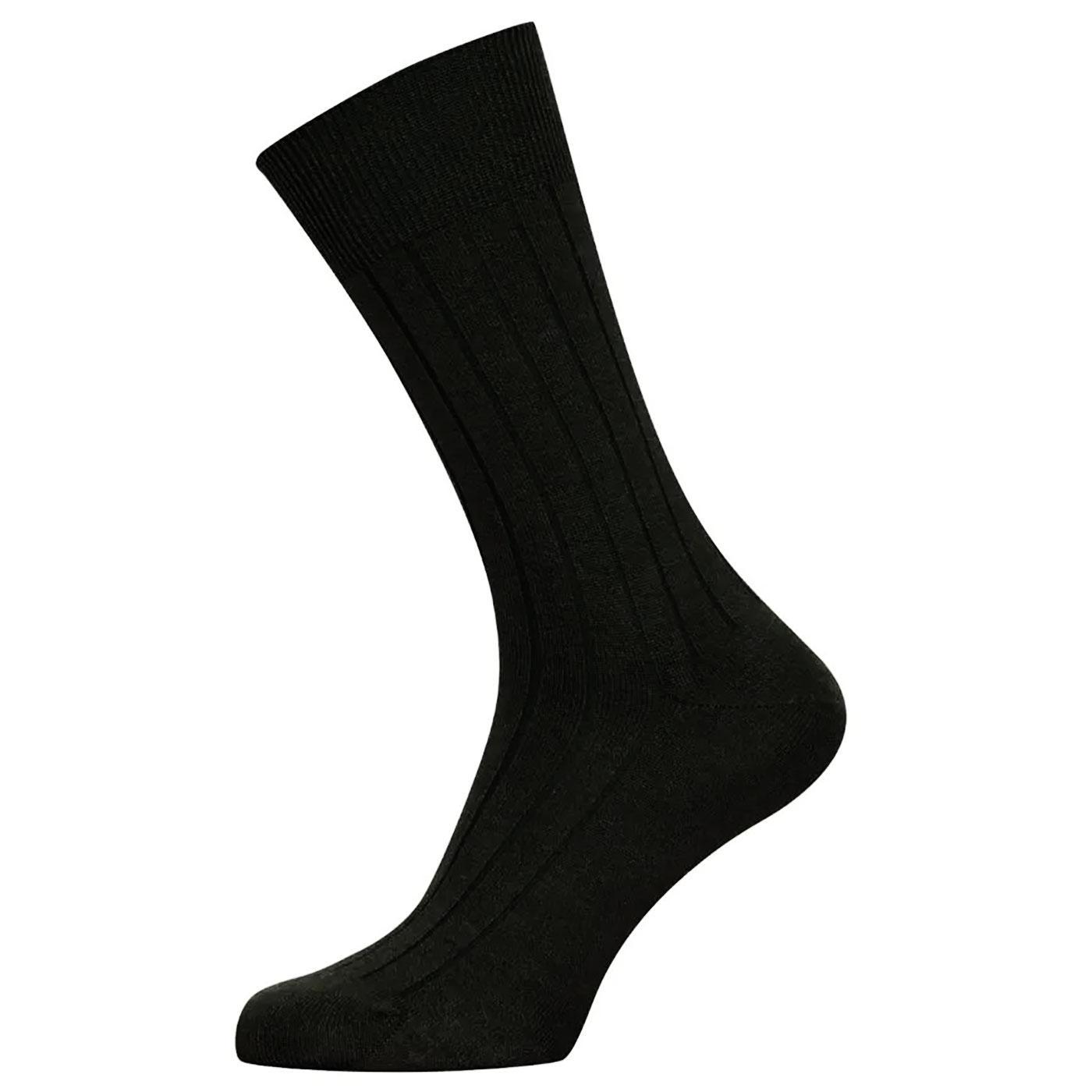 + Cira JOHN SMEDLEY Cotton & Wool Blend Socks B