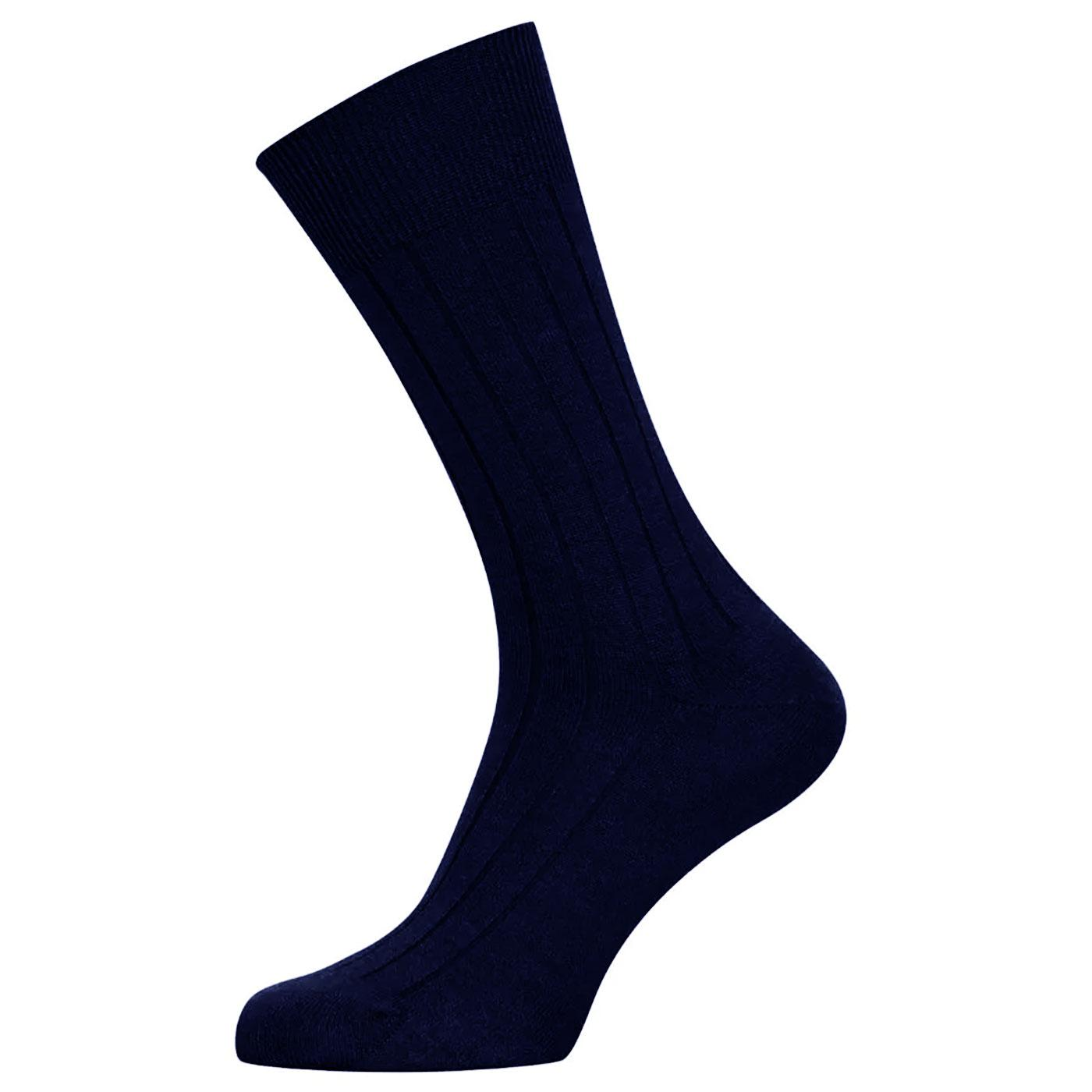 + Cira JOHN SMEDLEY Cotton & Wool Blend Socks N