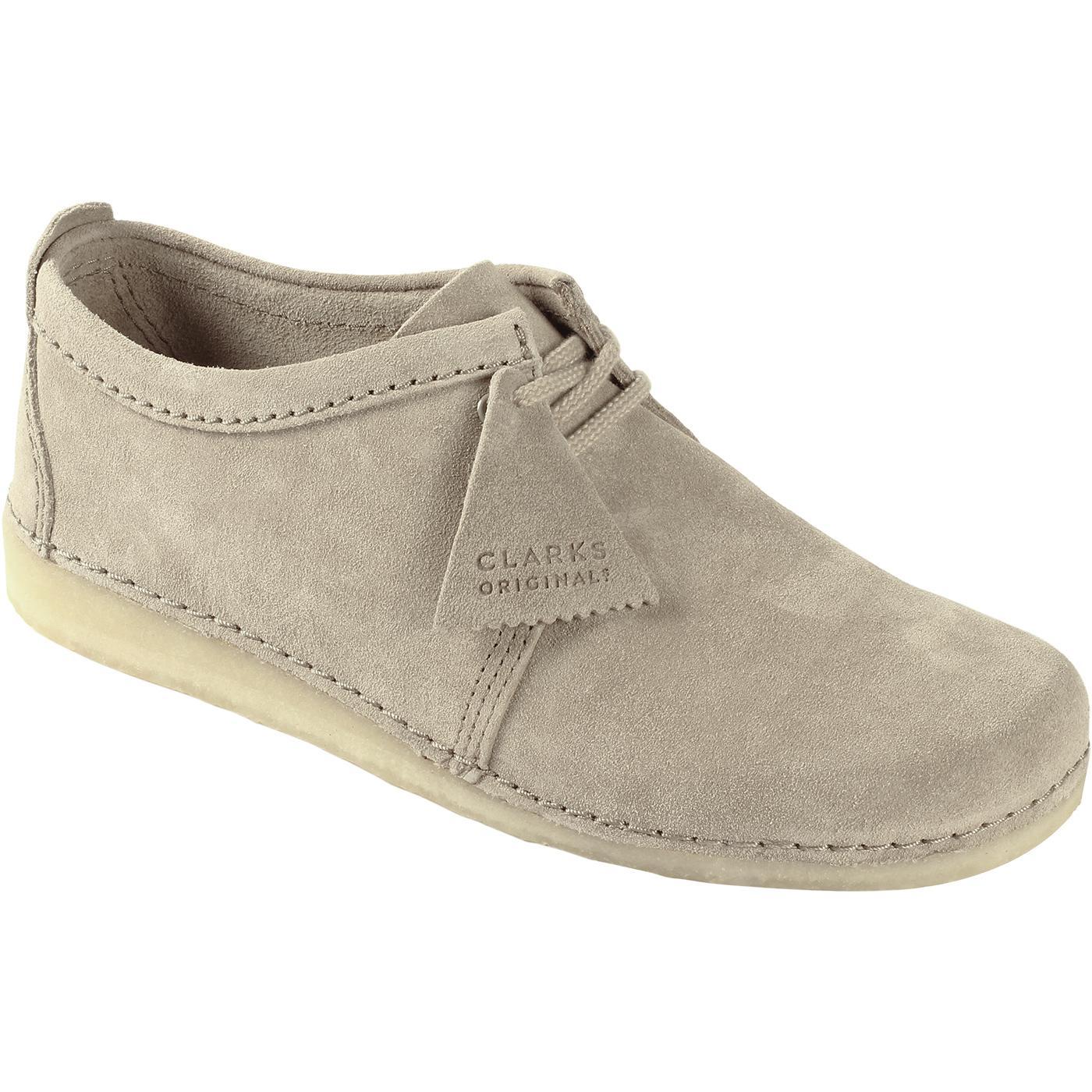 Ashton CLARKS ORIGINALS Retro Mod Sand Suede Shoes