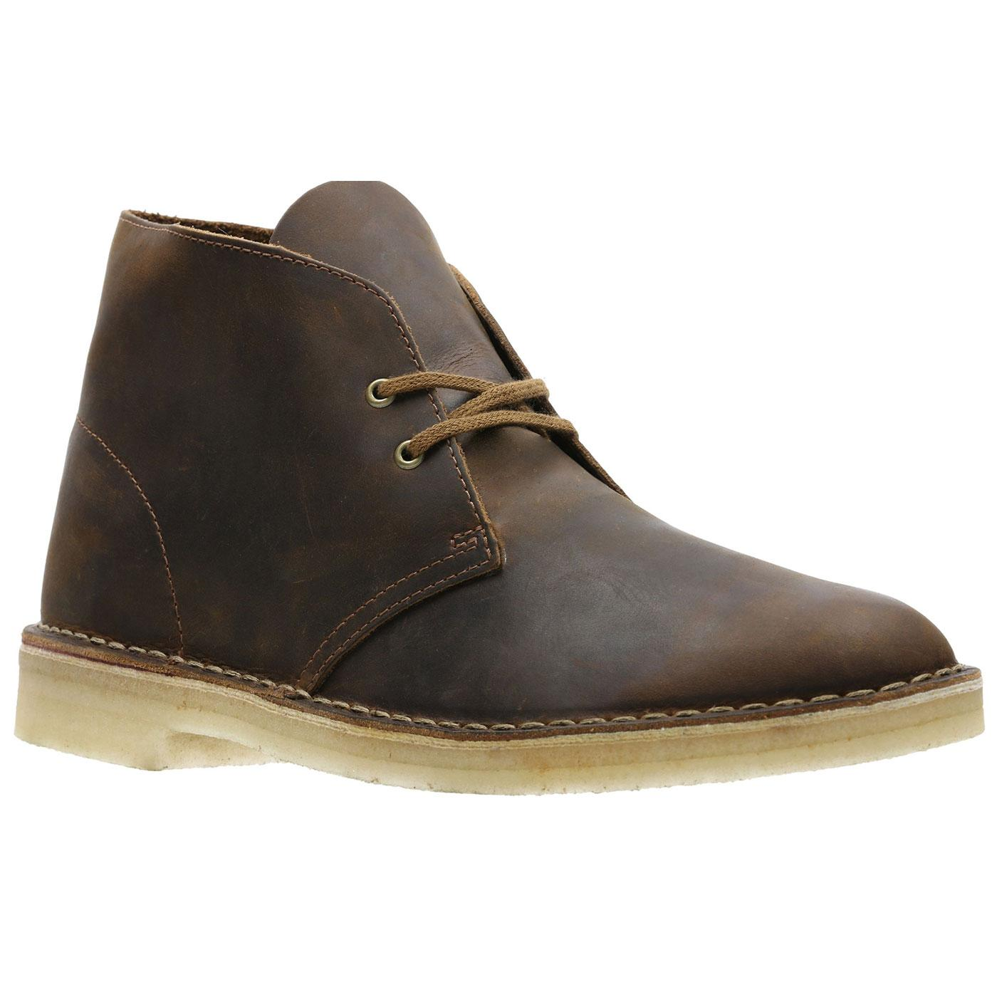 CLARKS ORIGINALS Men's Mod Desert Boots BEESWAX