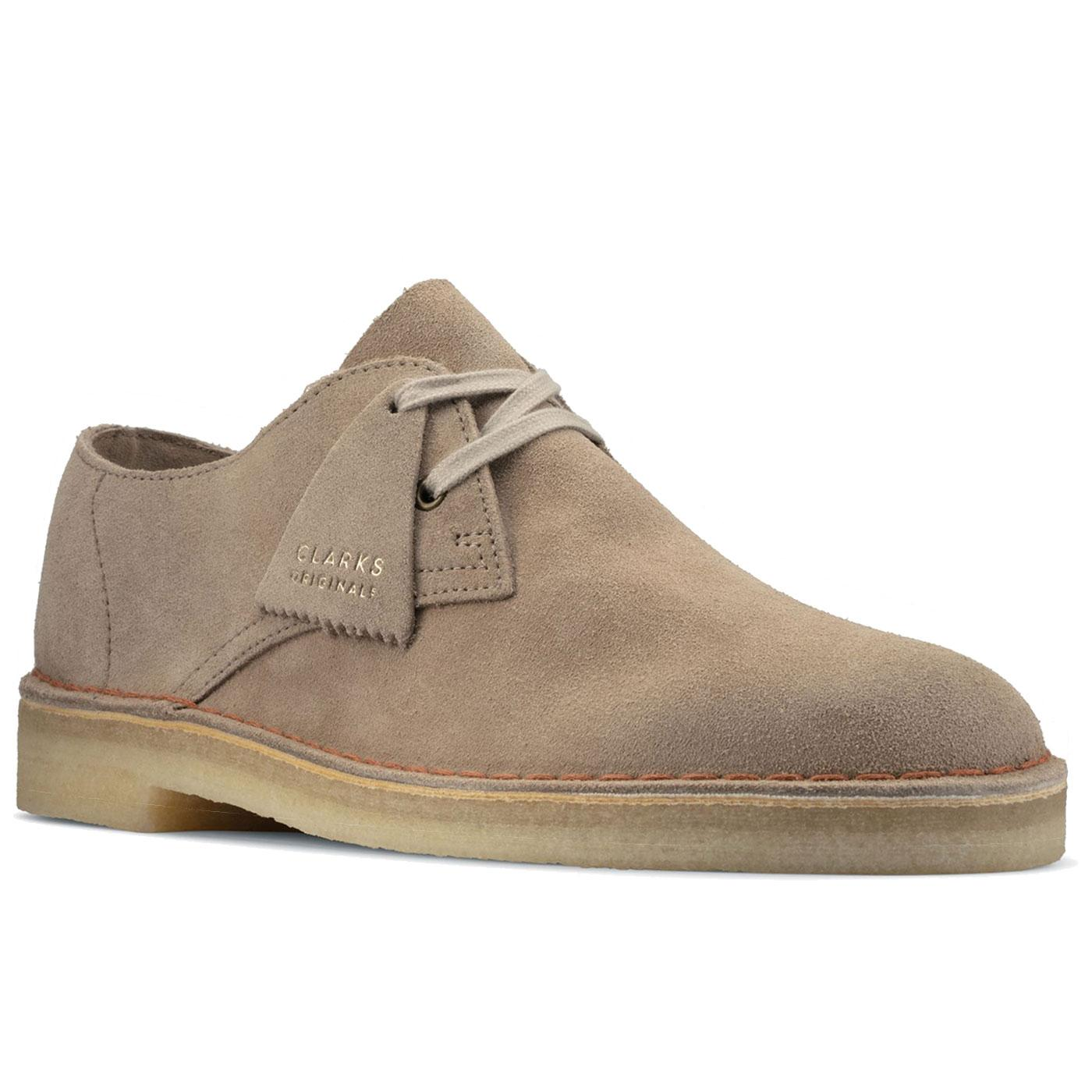 Desert Khan Clarks Originals Suede Oxford Shoes S