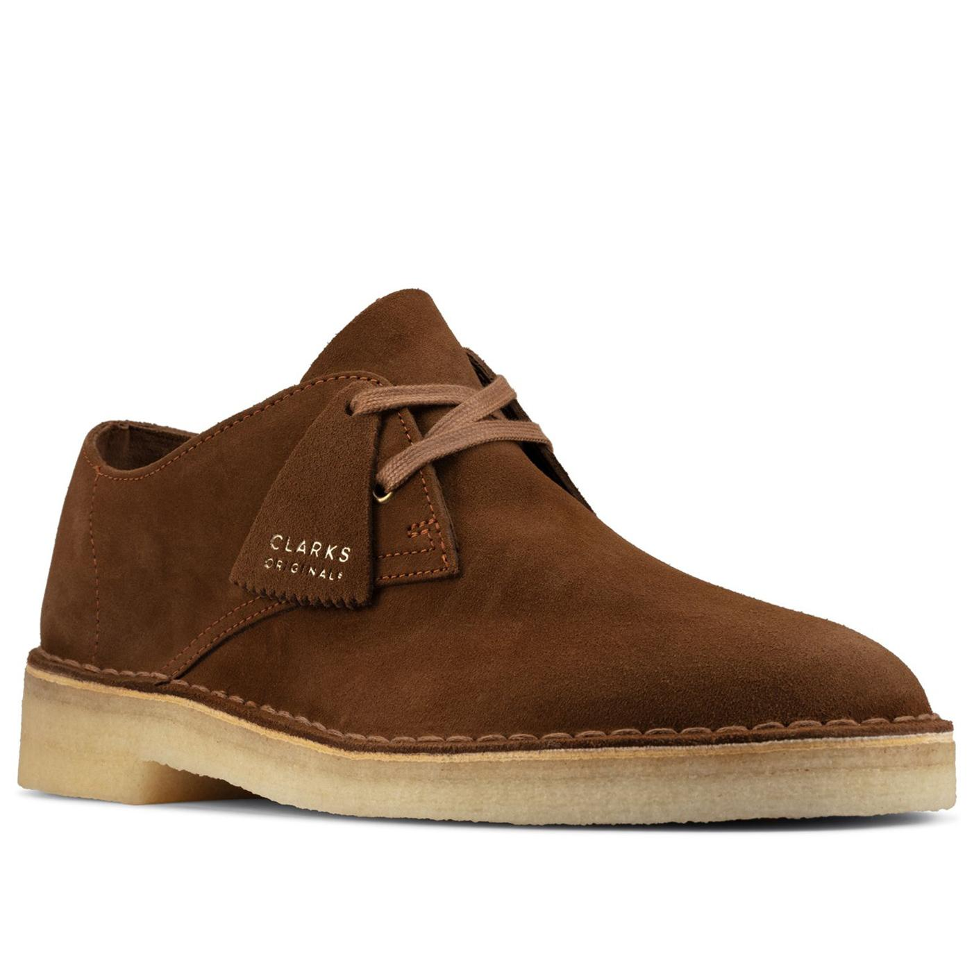 Desert Khan CLARKS ORIGINALS Suede Oxford Shoes C