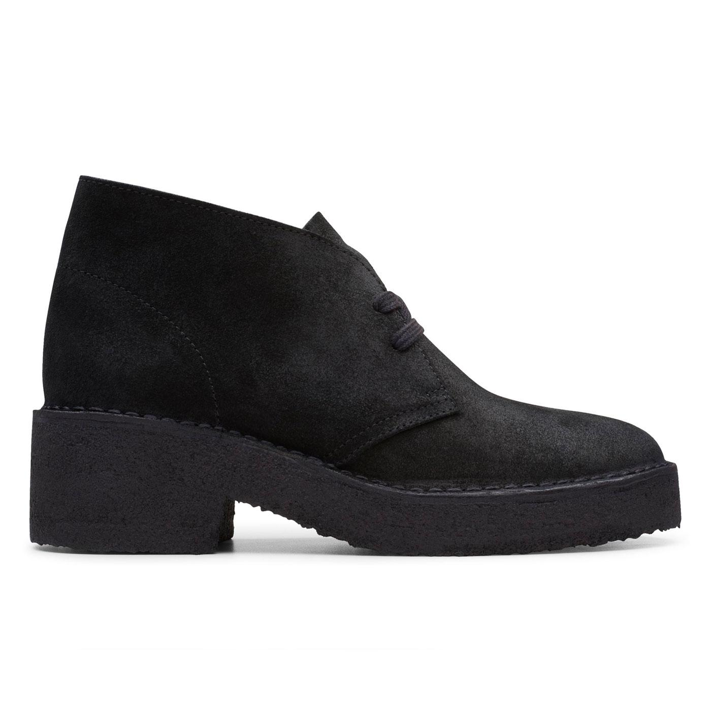 Arisa Desert CLARKS ORIGINALS Desert Boots (Black)