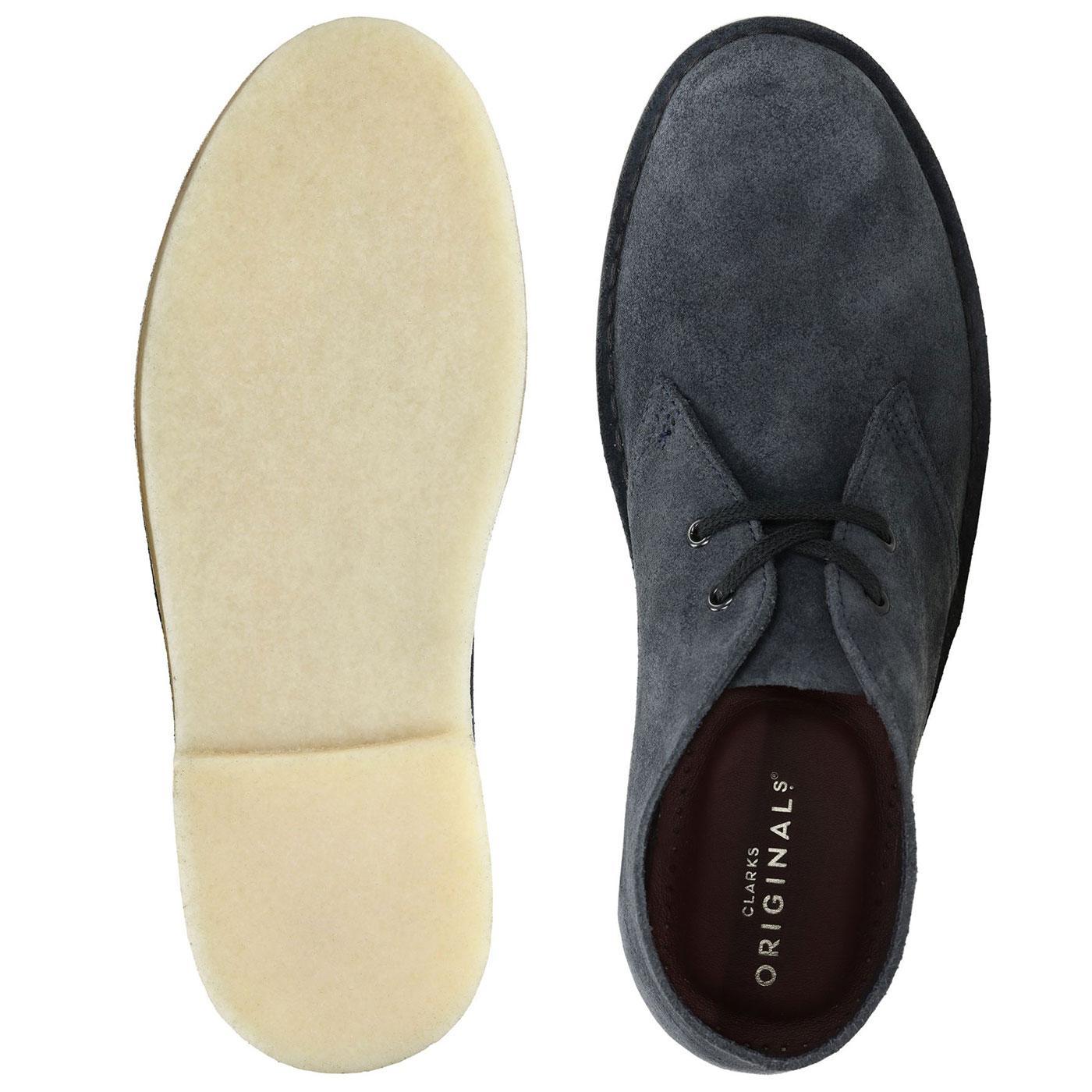 Mod Suede Desert Boots