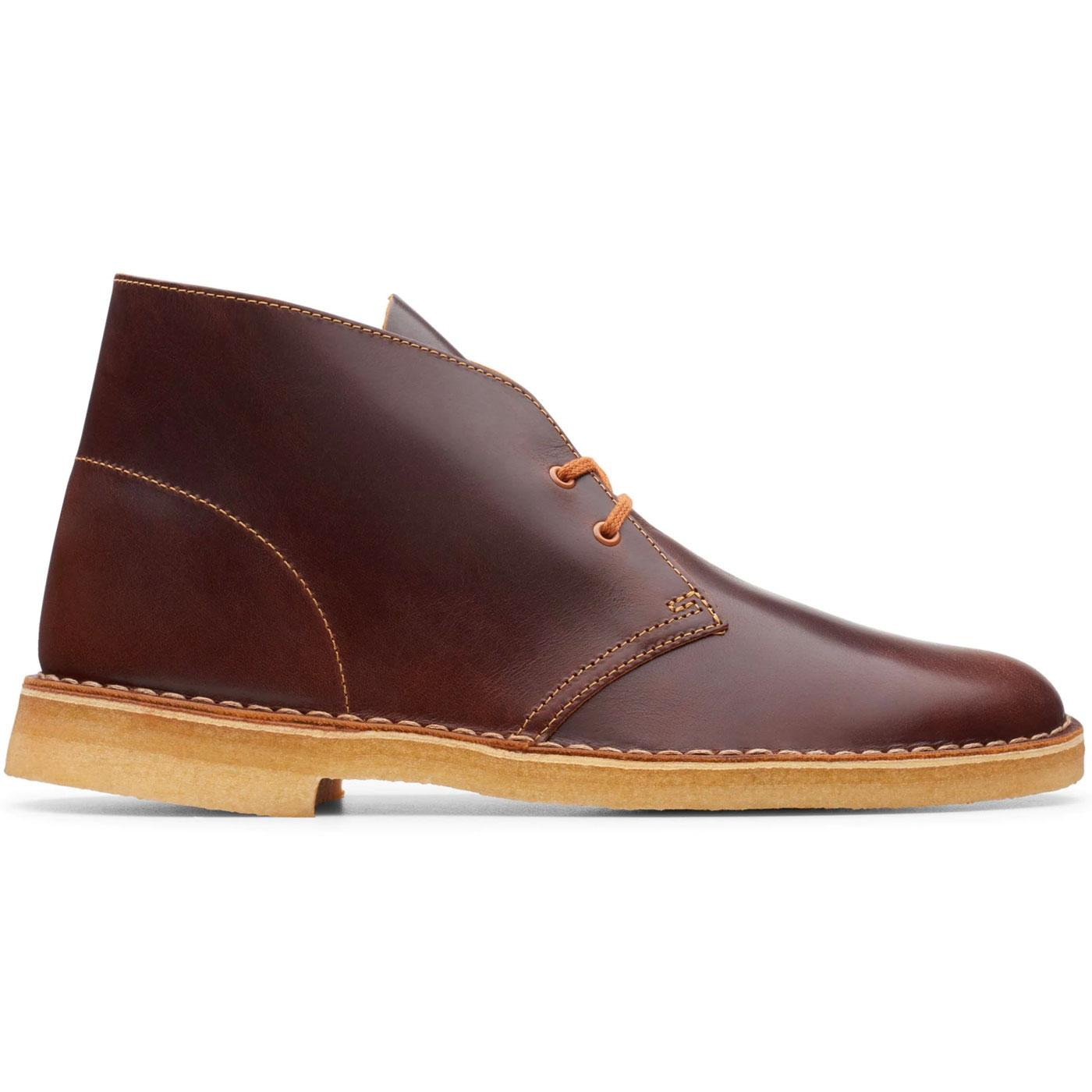 CLARKS ORIGINALS Mod Leather Desert Boots (Tan)
