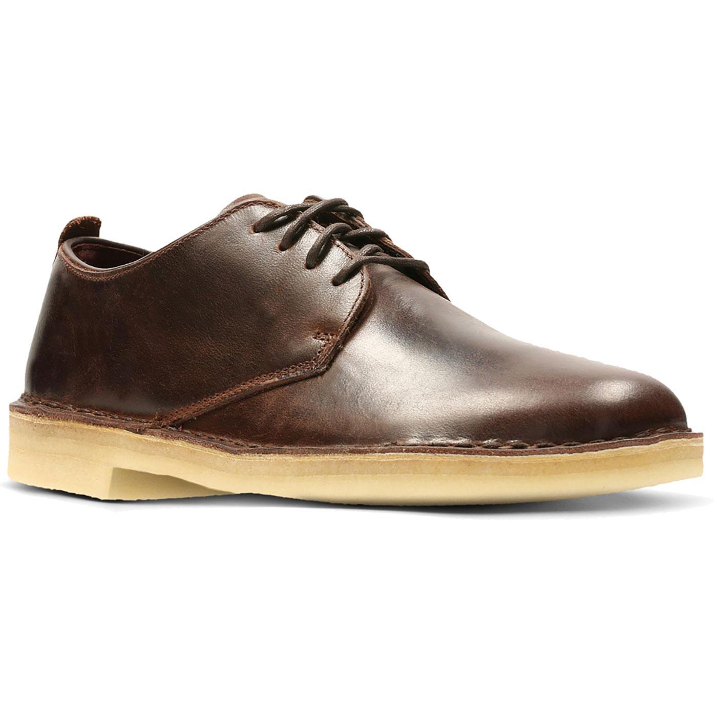 Desert London CLARKS ORIGINALS Leather Mod Shoes C