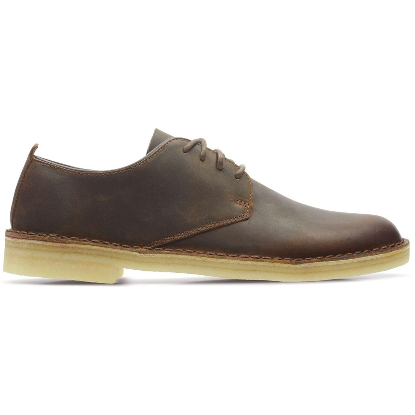 Desert London CLARKS ORIGINALS Mod Shoes Beeswax