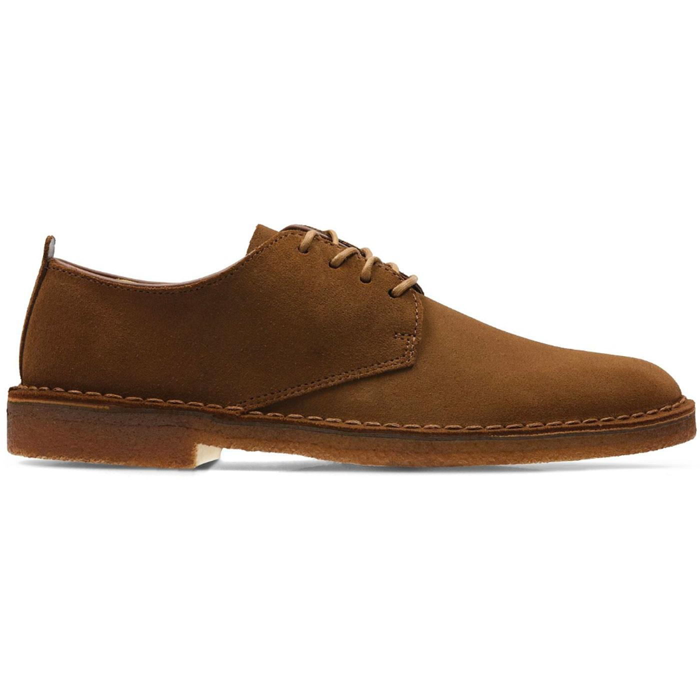 Desert London CLARKS ORIGINALS Suede Shoes (Cola)
