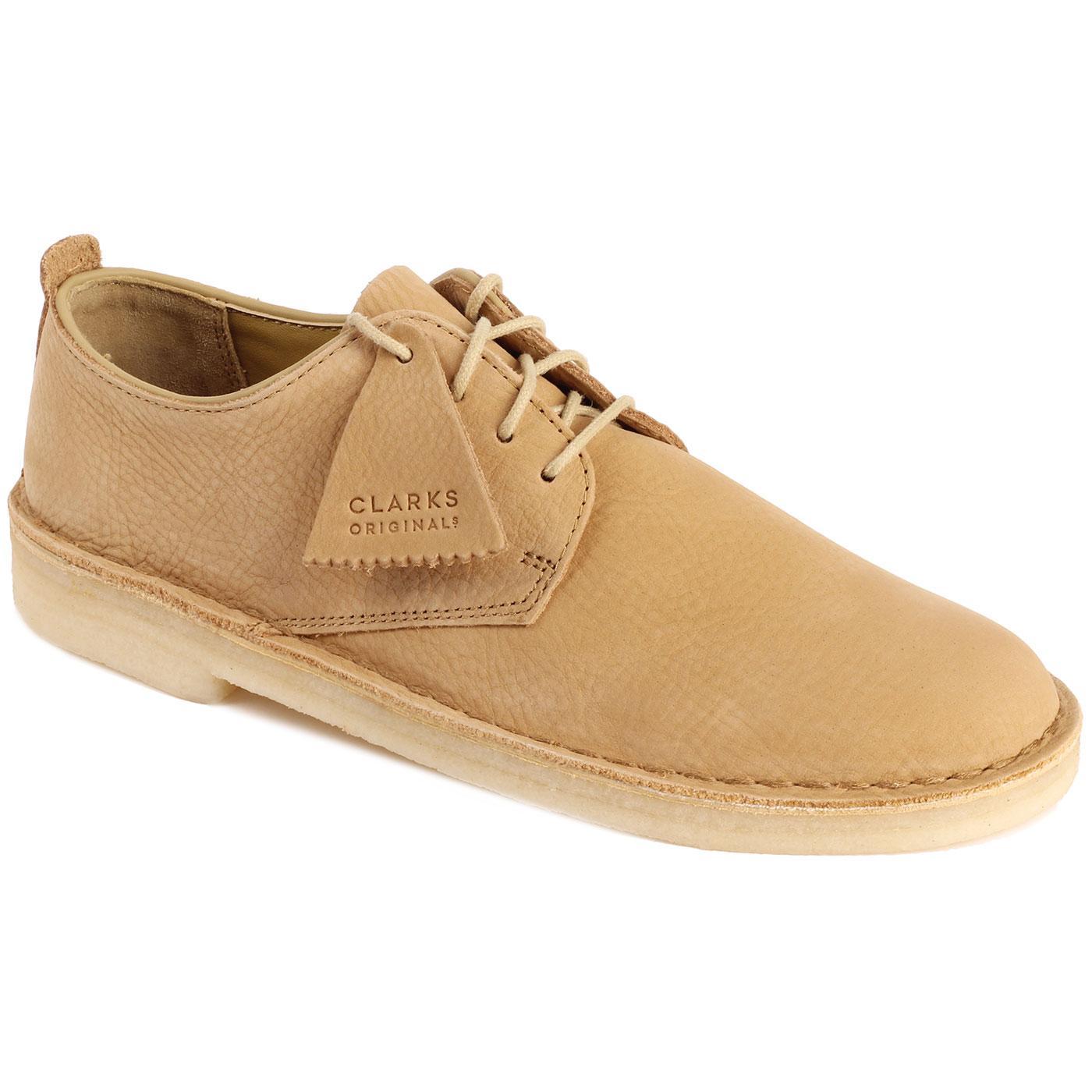Desert London CLARKS ORIGINALS Nubuck Shoes MAPLE