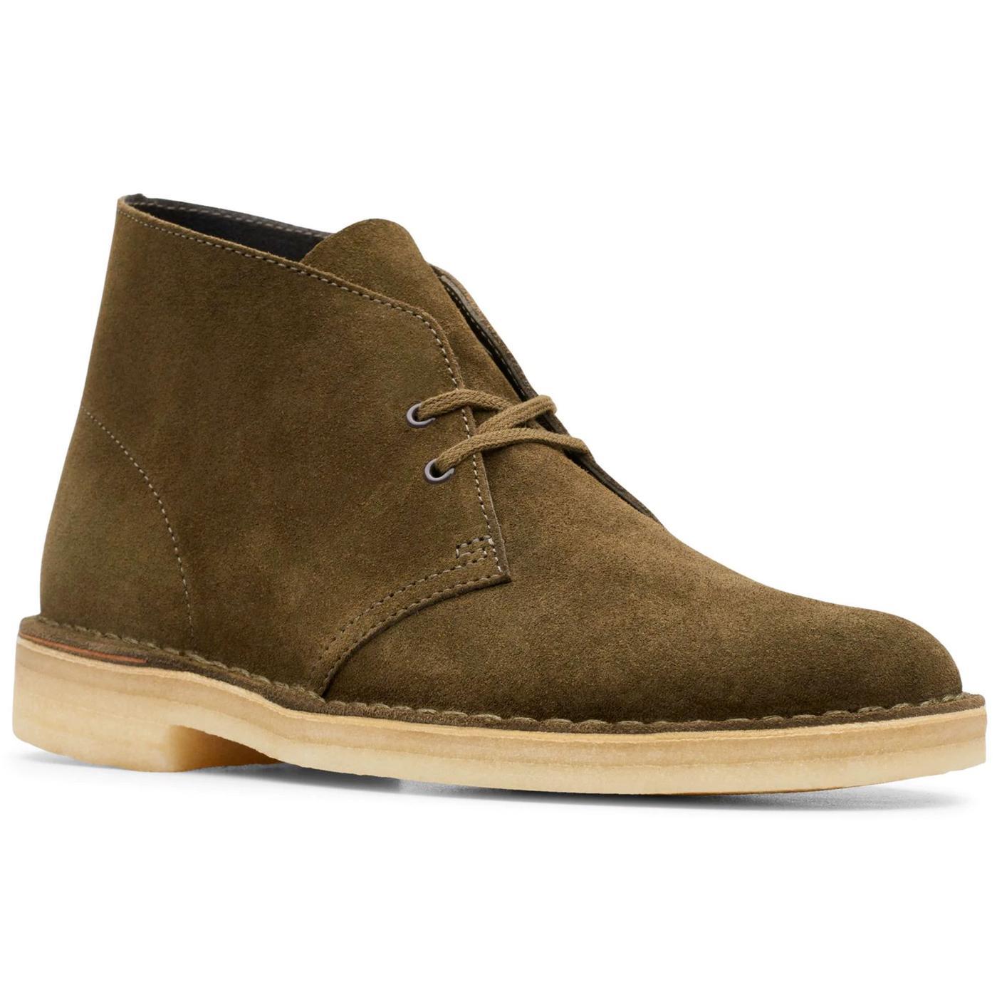 CLARKS ORIGINALS Men's Mod Suede Desert Boots (DO)